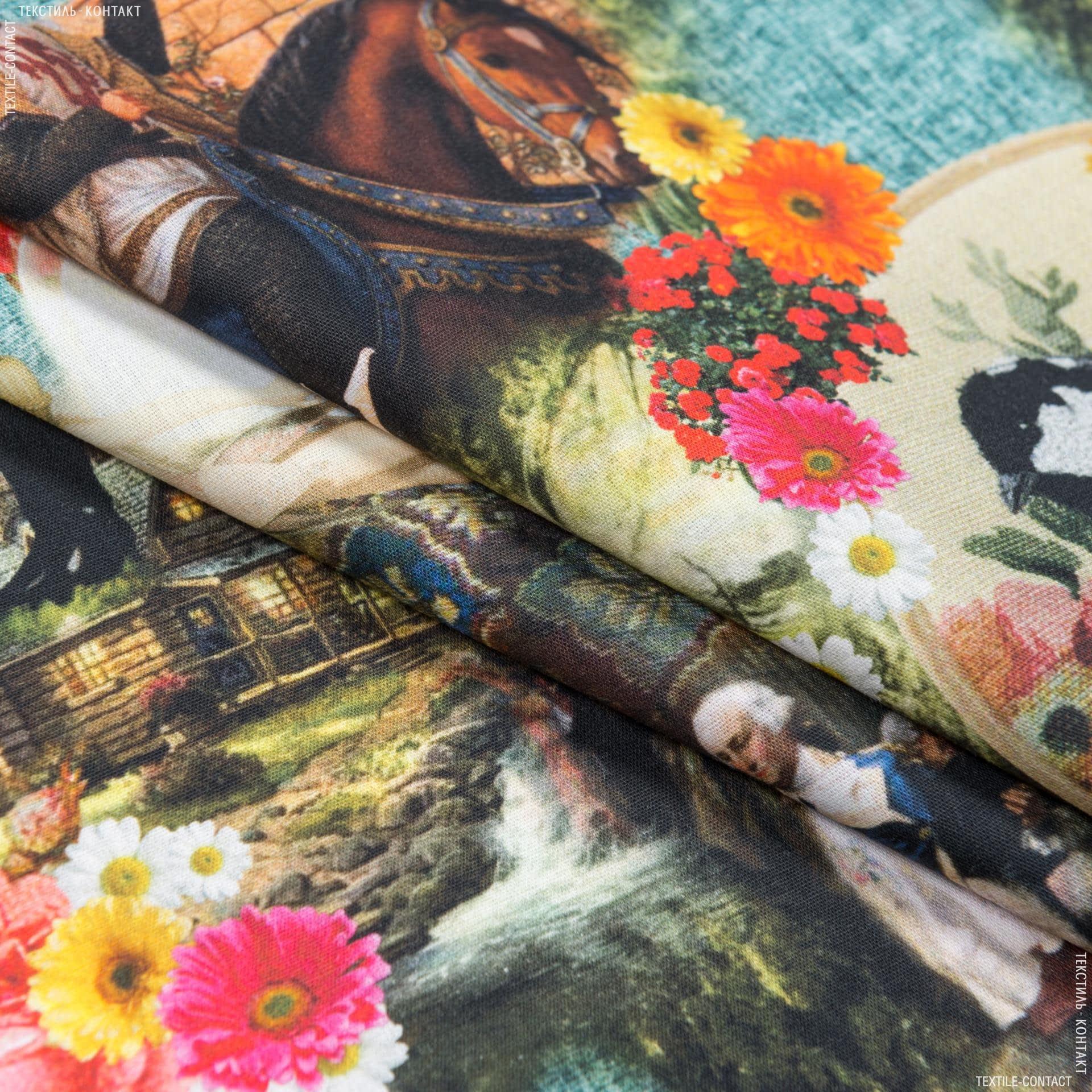 Ткани для костюмов - Поплин принт