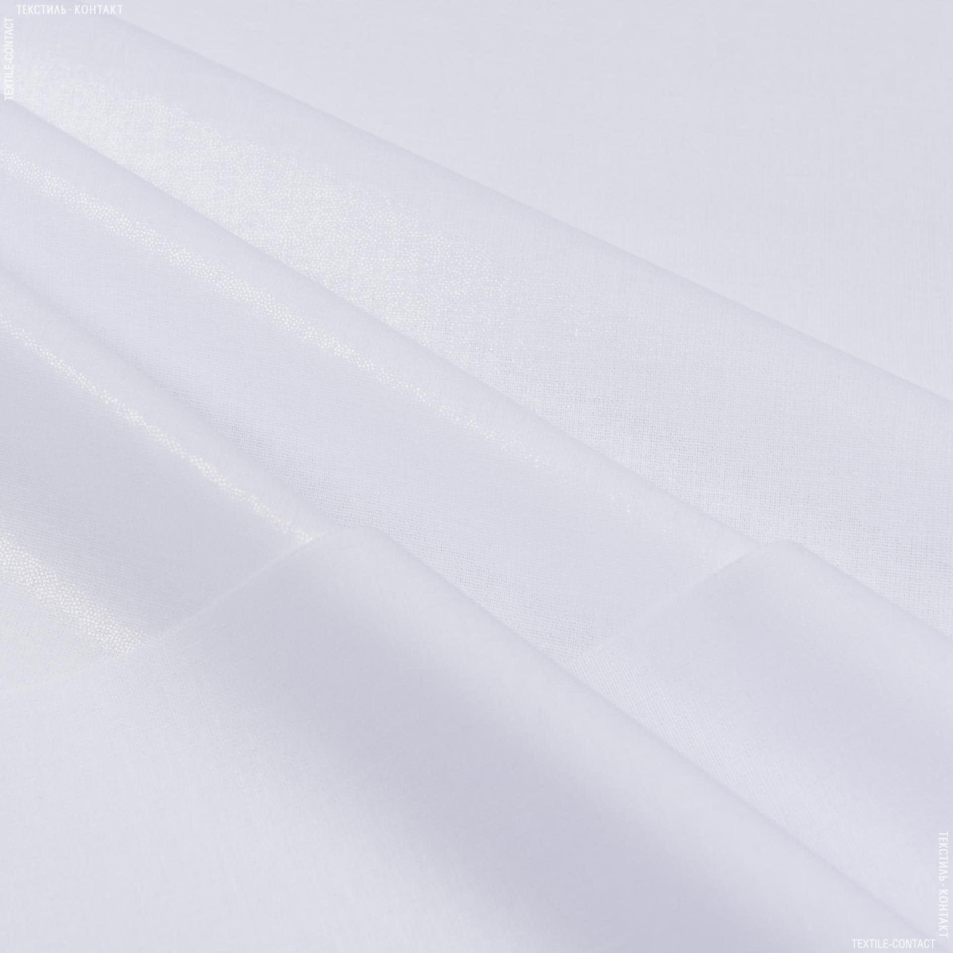 Тканини дублірин, флізелін - Бязь клейова білий 112г/м