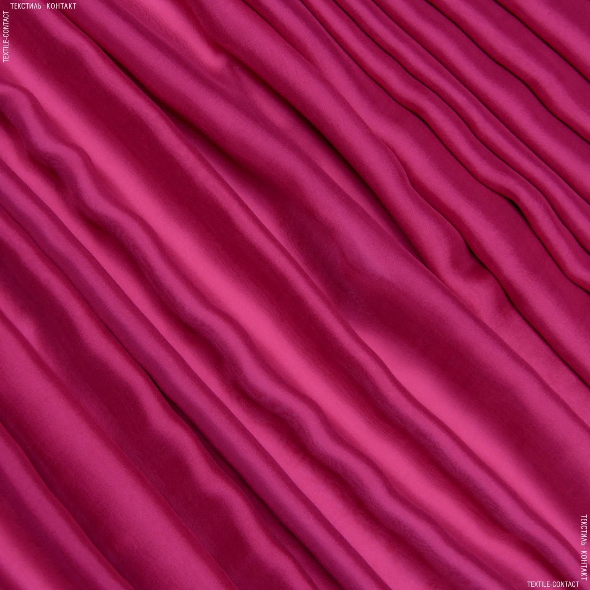 Тканини для хусток та бандан - Шифон-шовк натуральний вишневий