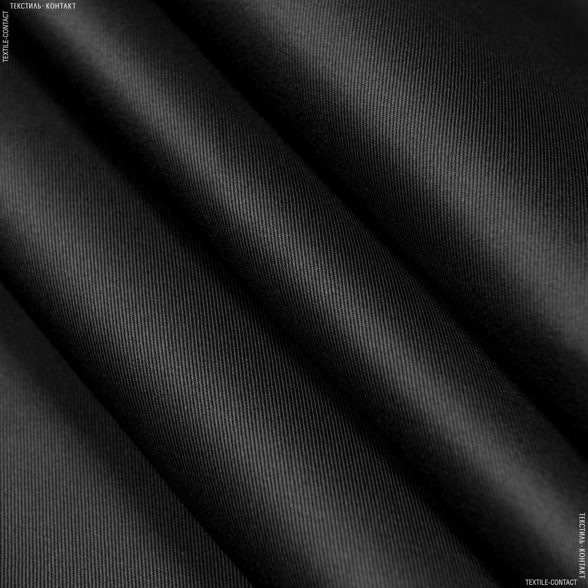 Ткани для рюкзаков - Саржа юпитер-1 черный