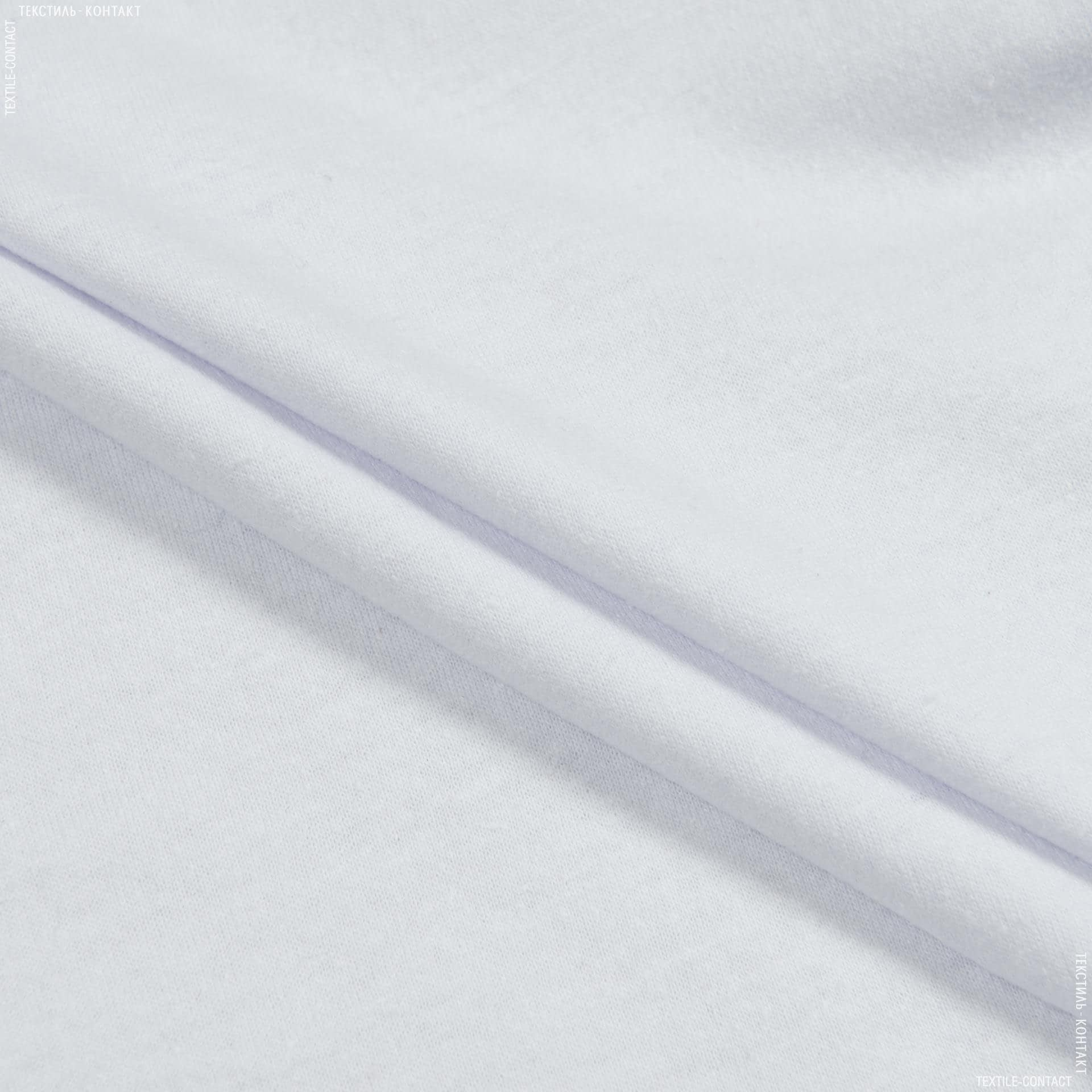 Ткани для детской одежды - Кулирное полотно  100см х 2 белый