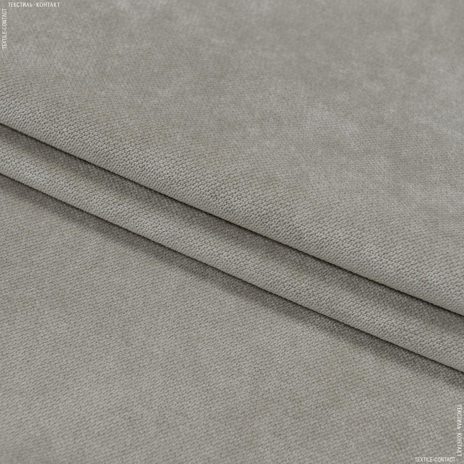 Ткани для мебели - Велюр будапешт/budapest серый-беж