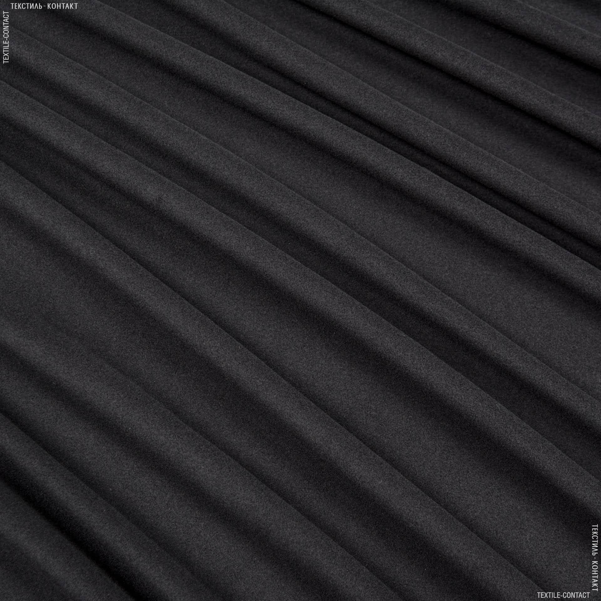 Тканини для верхнього одягу - Пальтова масконi темно-сірий