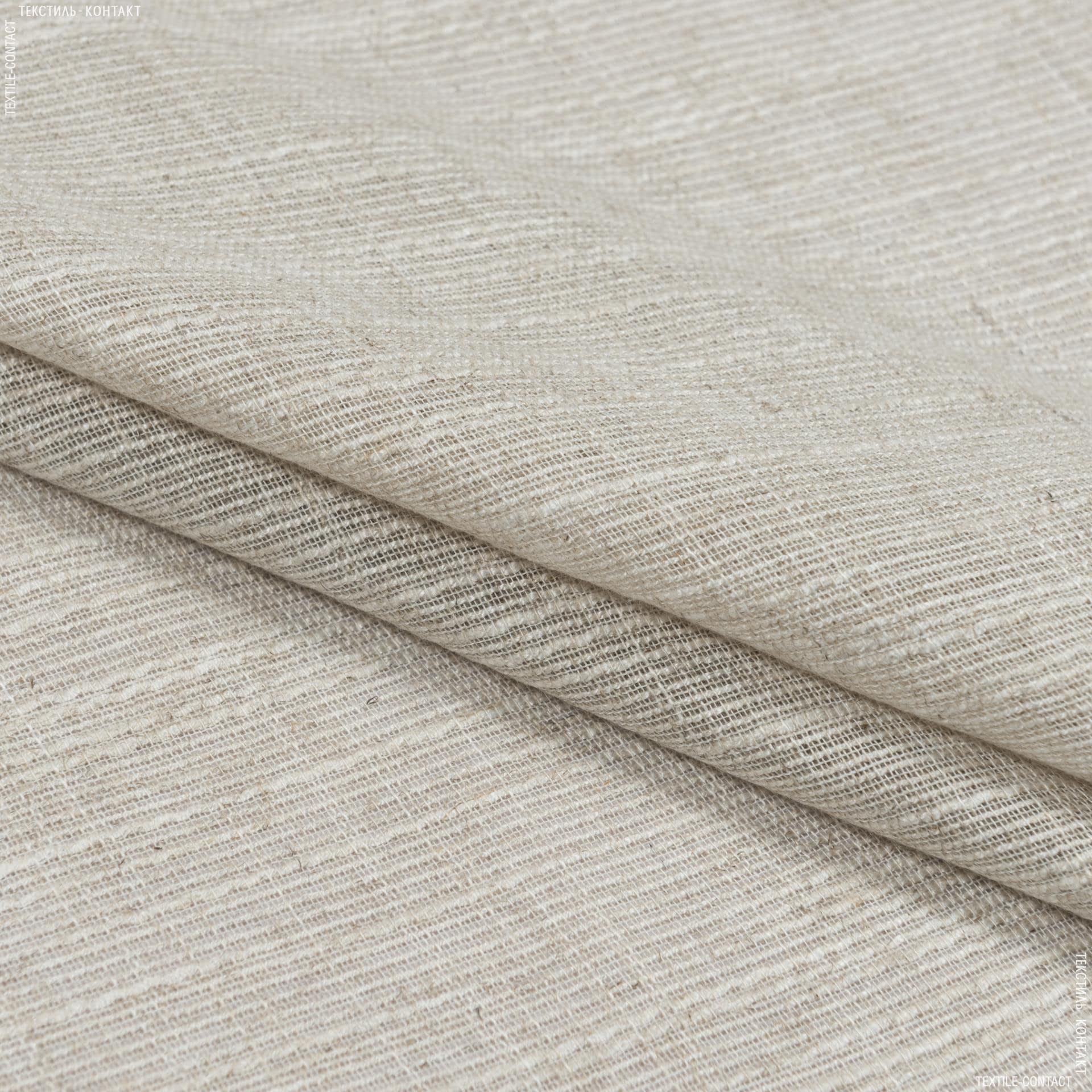Тканини для тюлі - Тюль рогожка грау беж