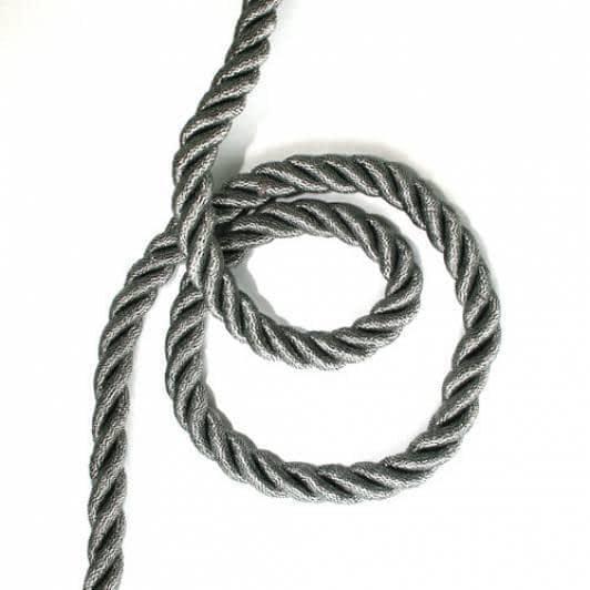 Ткани шнур декоративный - Шнур голд, т. серебро