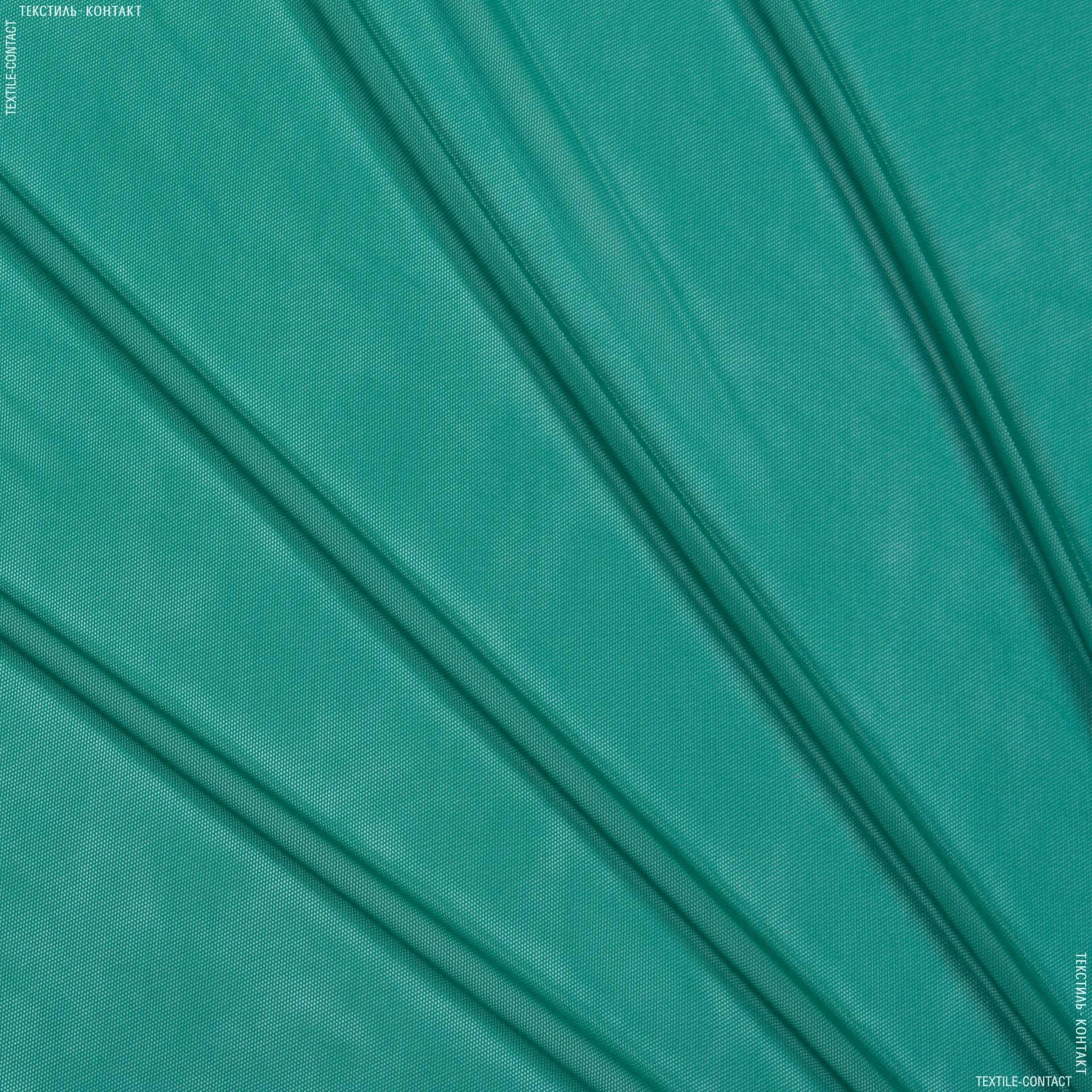 Ткани для платьев - Сетка стрейч изумрудный