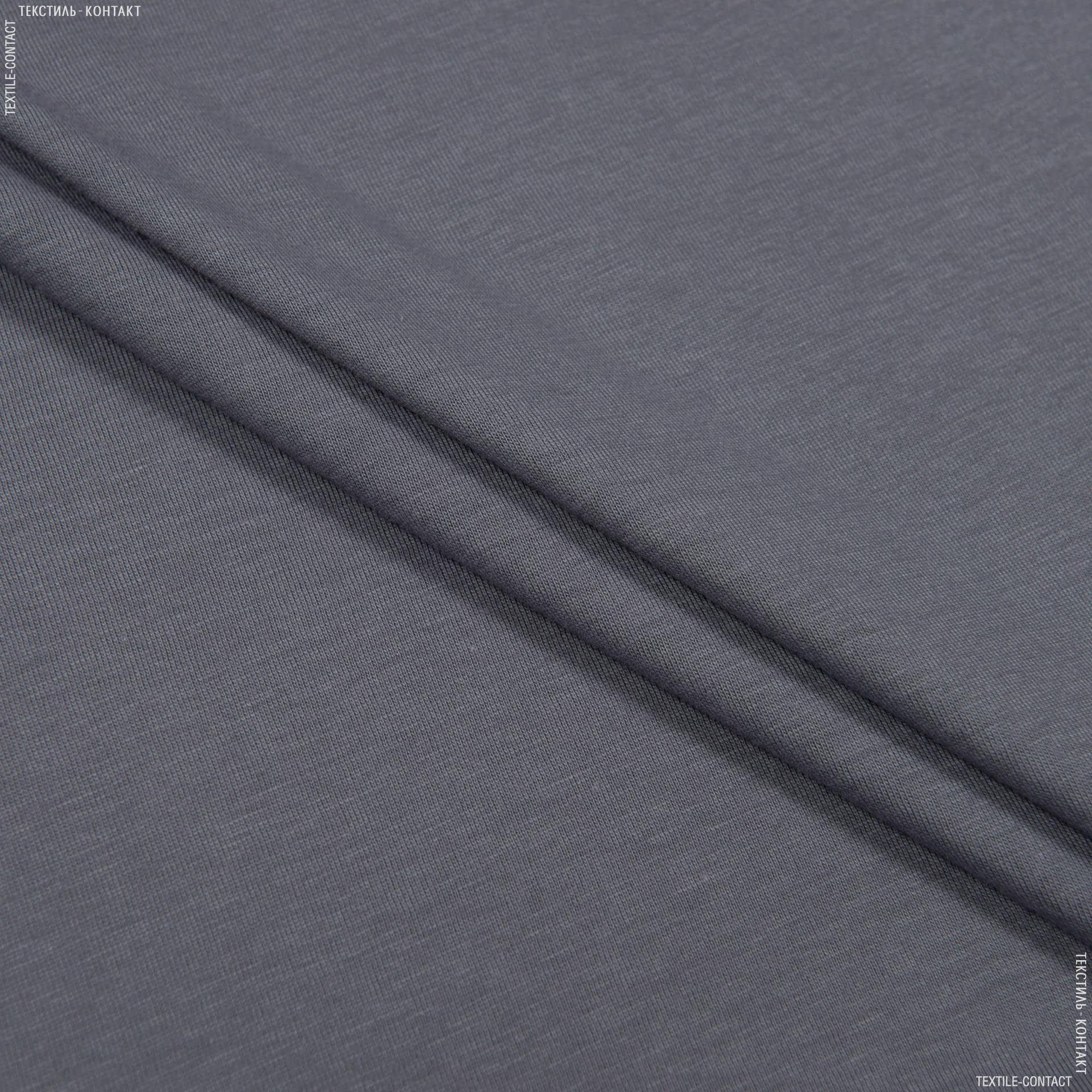 Тканини підкладкова тканина - Трикотаж підкладковий синій