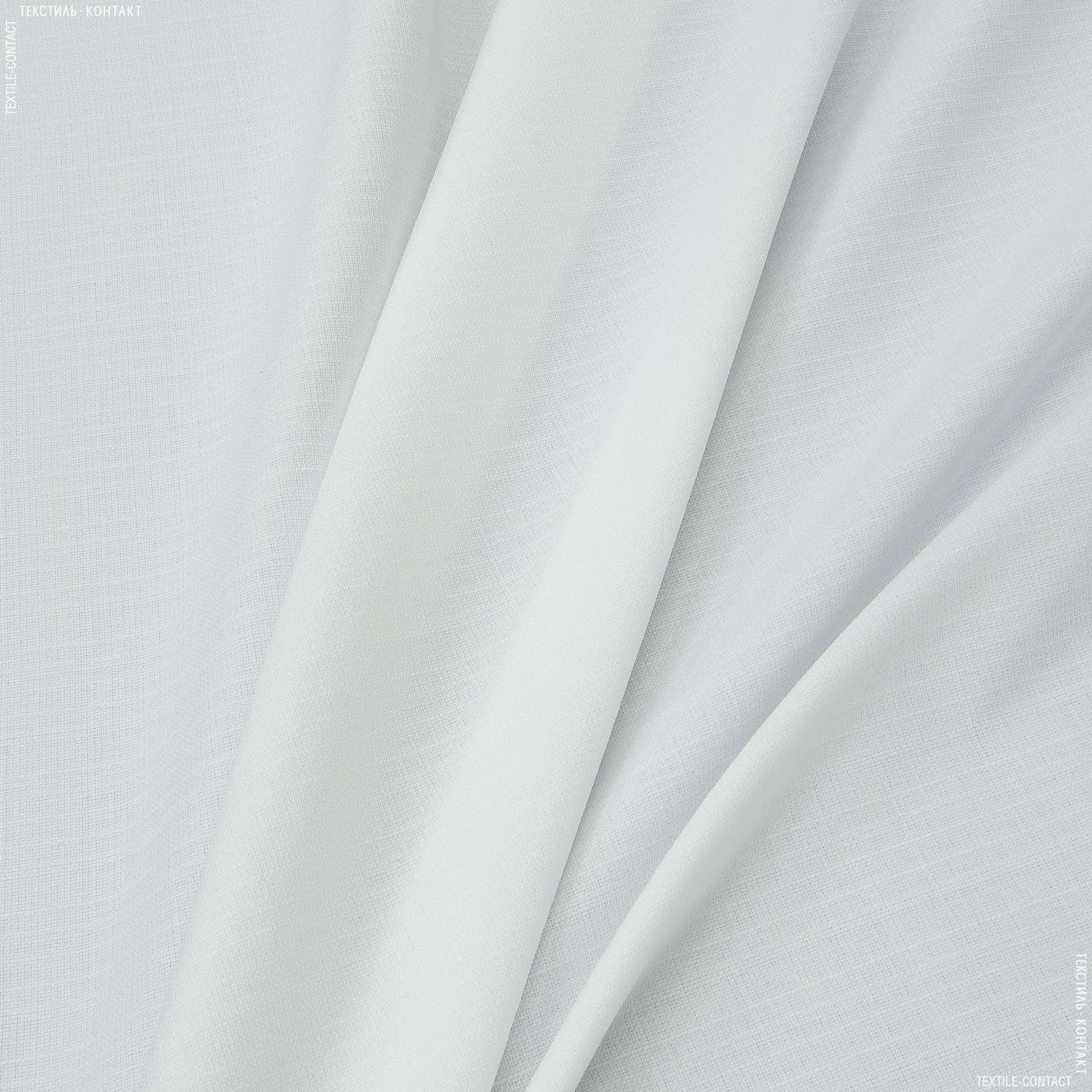 Ткани портьерные ткани - Рогожка зели бело-молочный