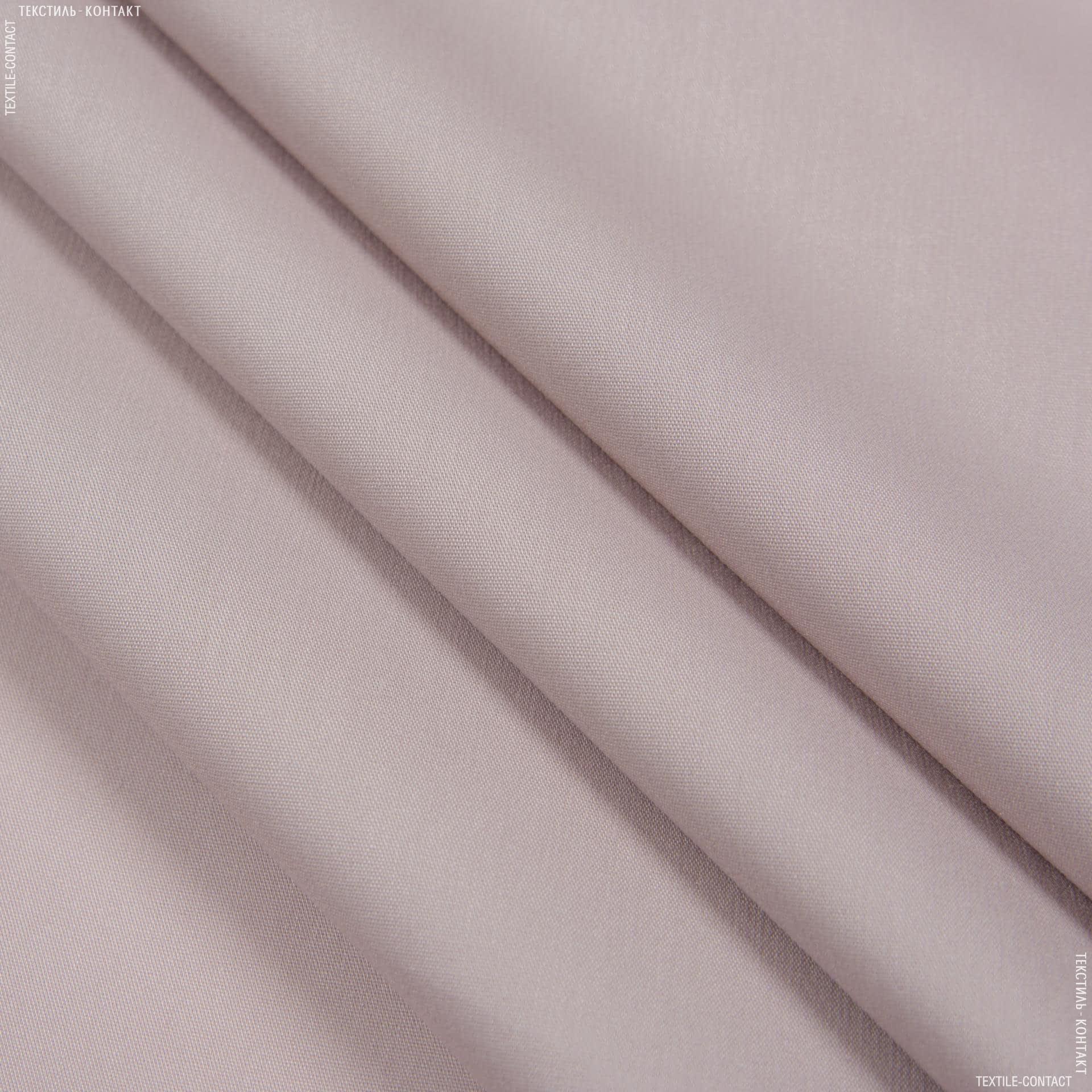 Ткани для платьев - Поплин нейлон стрейч темно-бежевый
