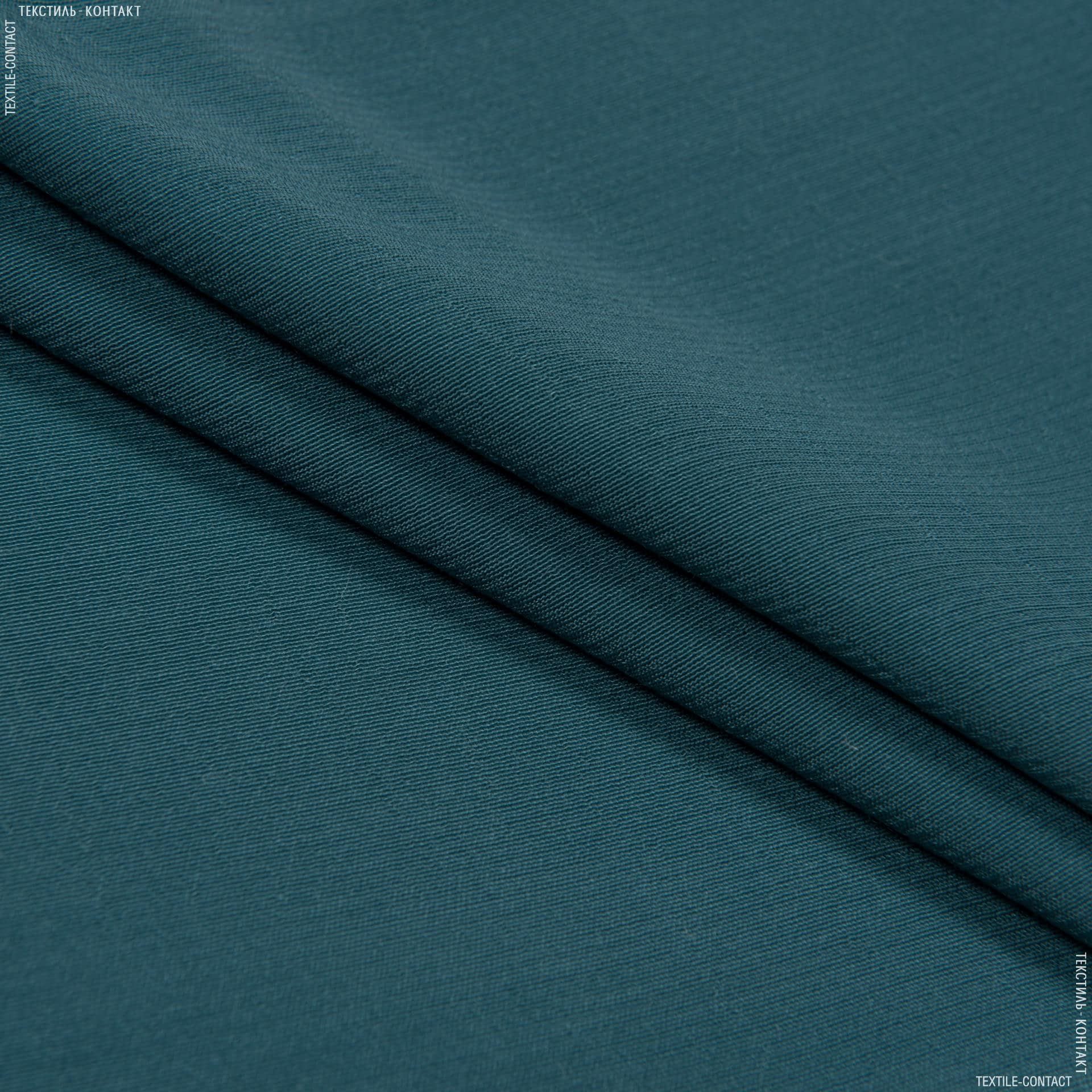 Тканини для костюмів - Платтяний жоржет фас морська хвиля