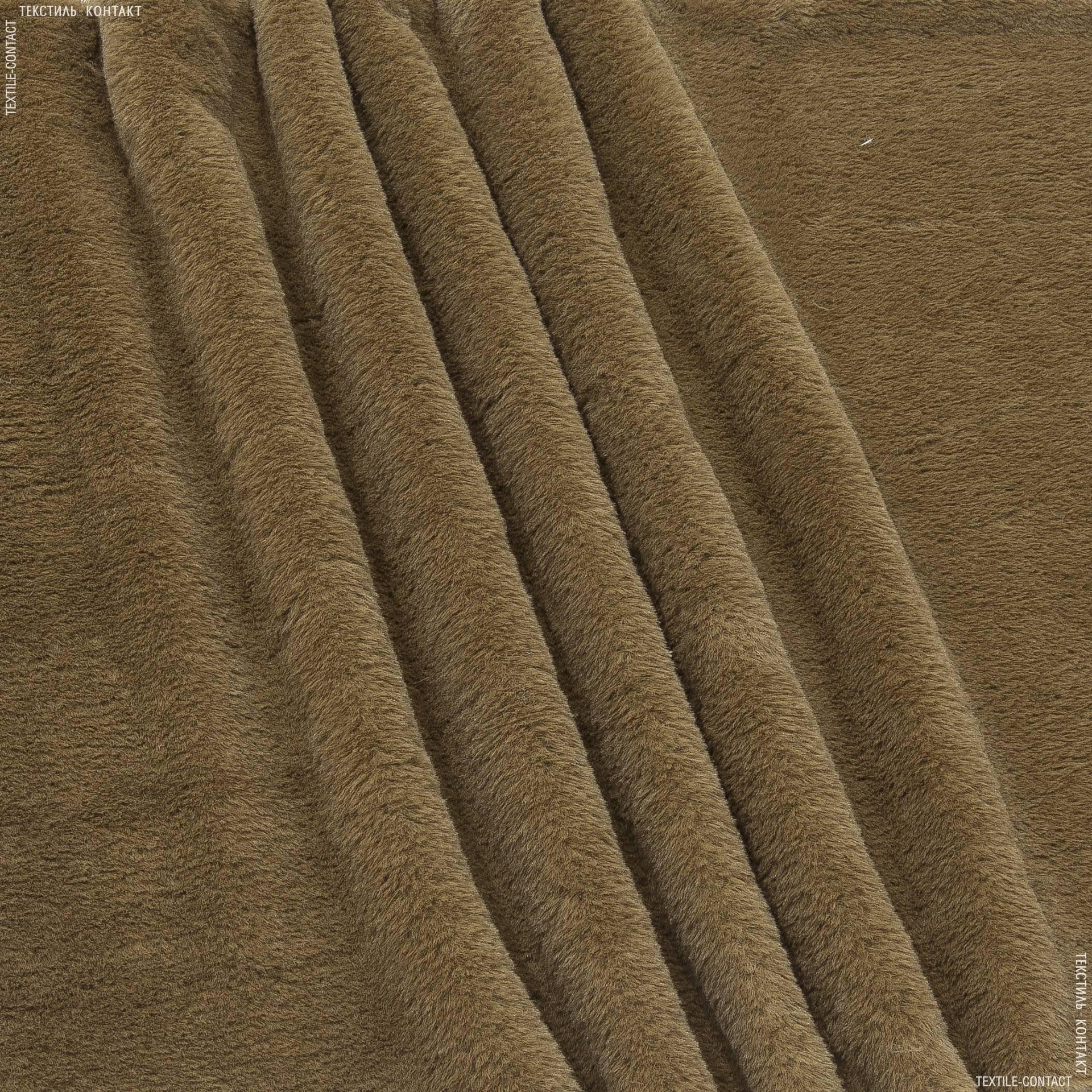 Ткани для верхней одежды - Мех лайт софт светло-коричневый