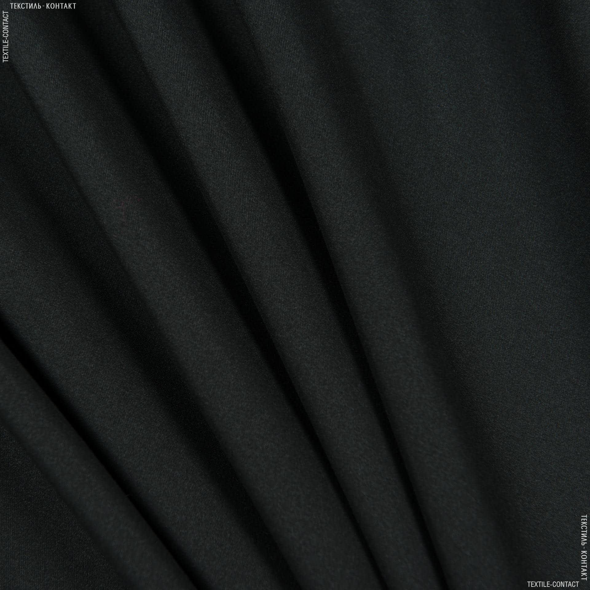 Ткани для спортивной одежды - Плащевая (микрофайбр) черный