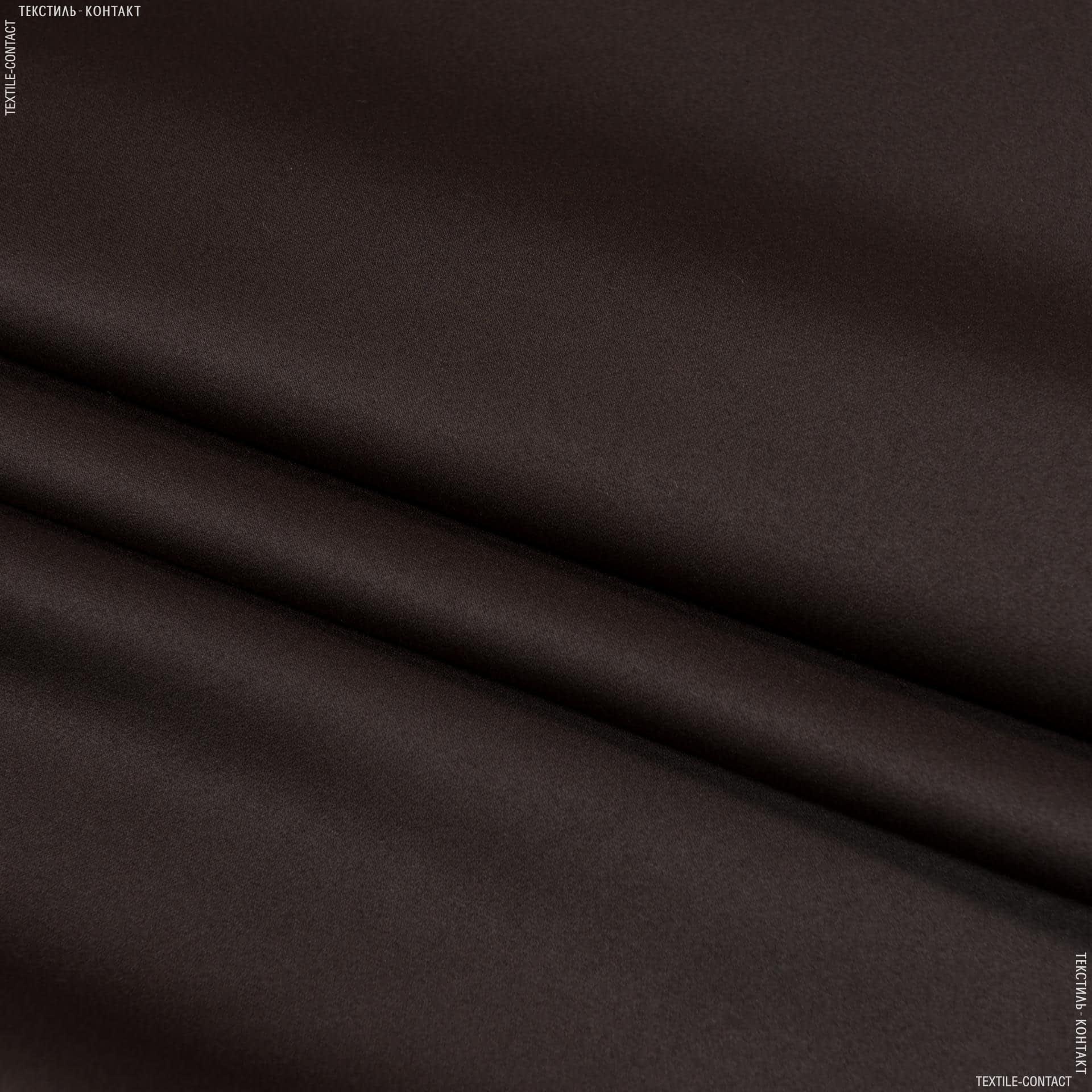 Ткани портьерные ткани - Блекаут / blackout  т.коричневый