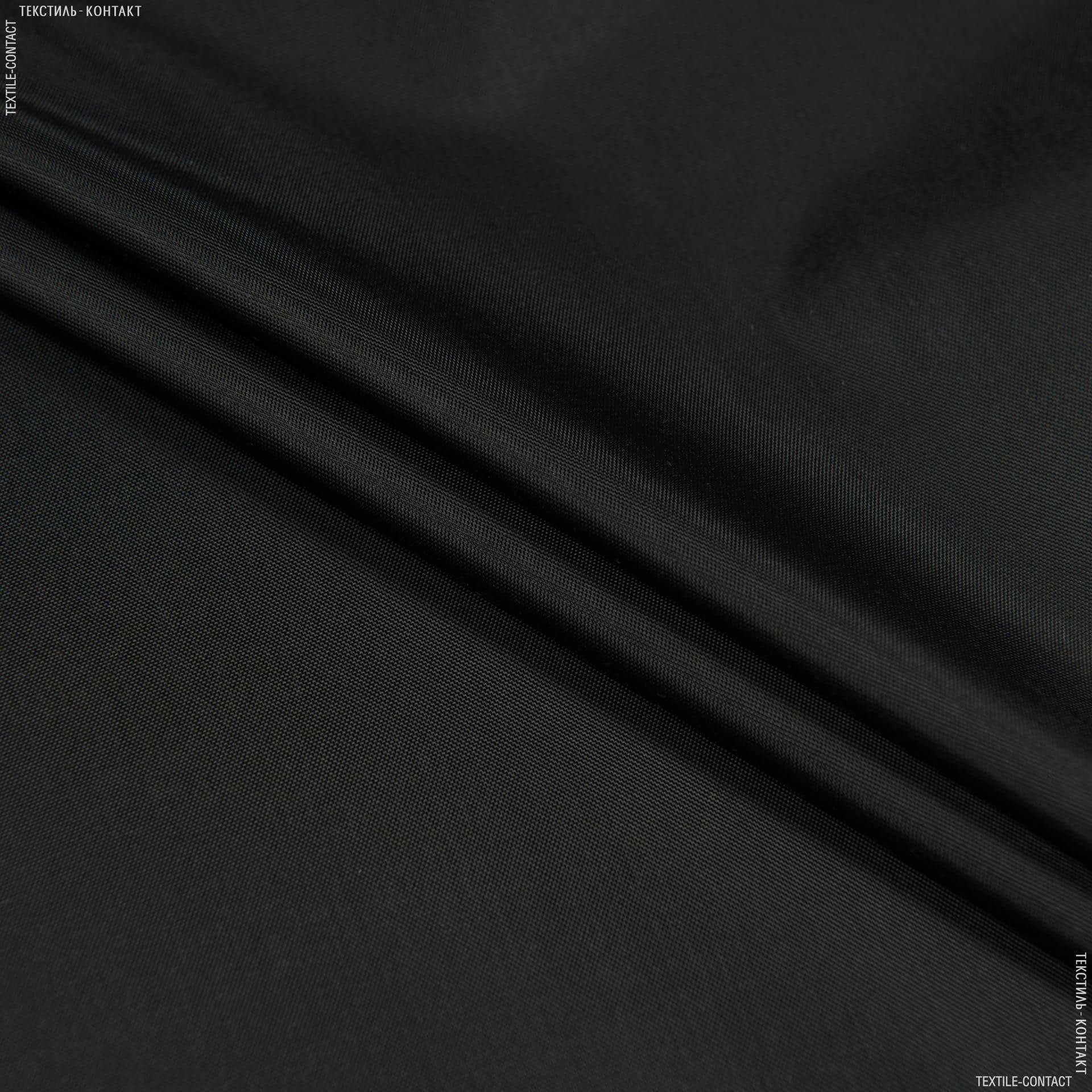 Ткани для верхней одежды - Болония сильвер черный