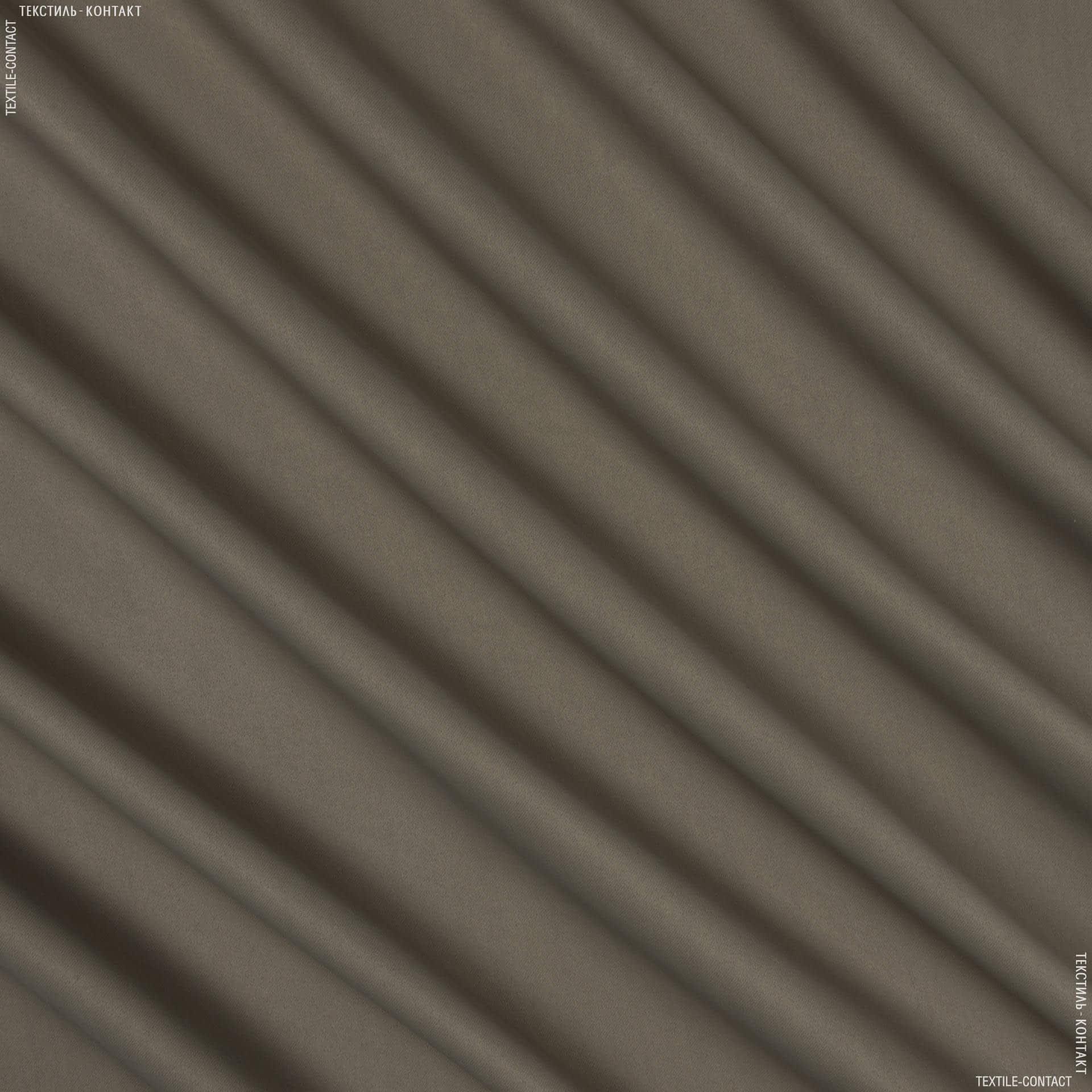 Ткани портьерные ткани - БЛЕКАУТ ОДНОТОННЫЙ/ BLACKOUT ТАБАК-2 полосатость