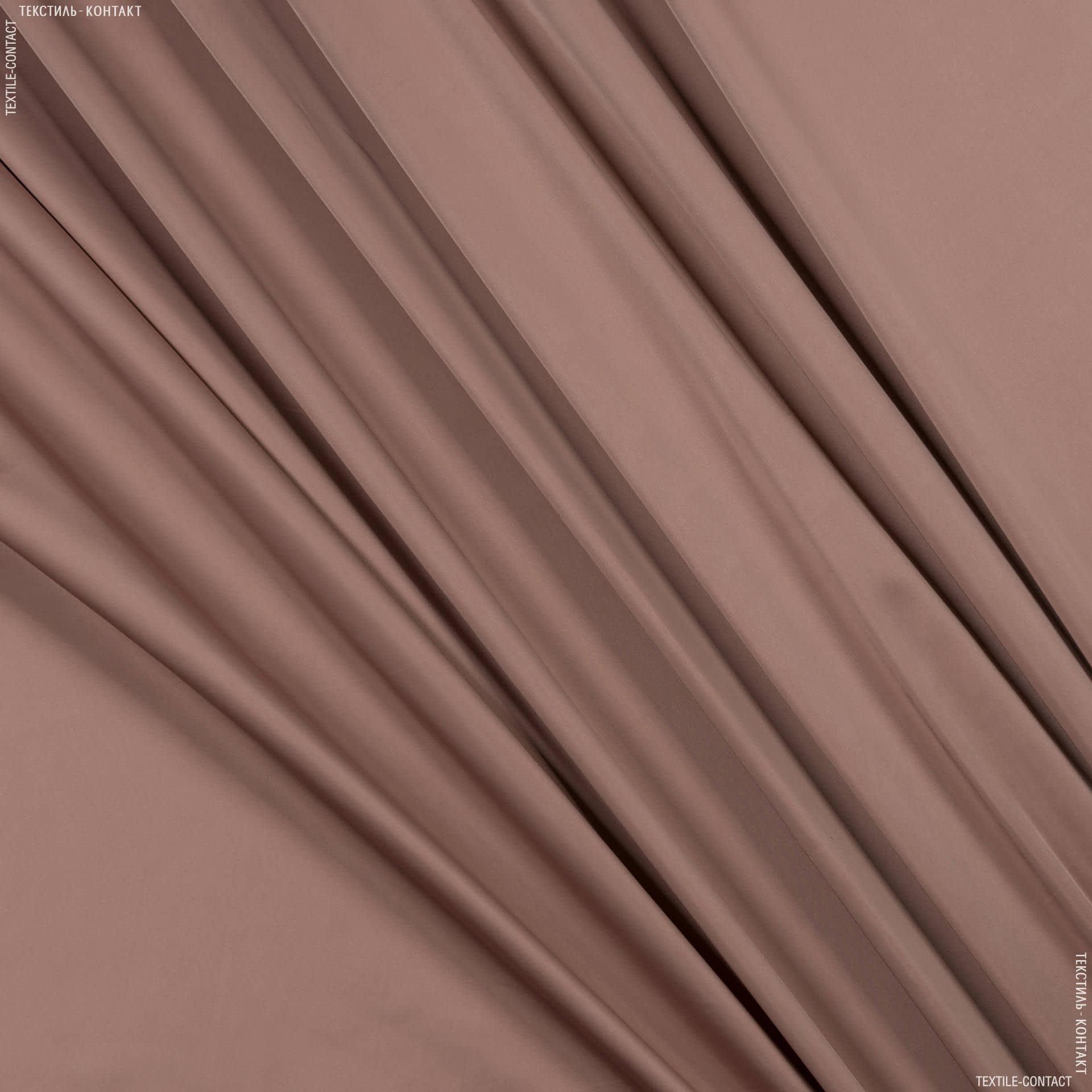Ткани для верхней одежды - Плащевая глация какао