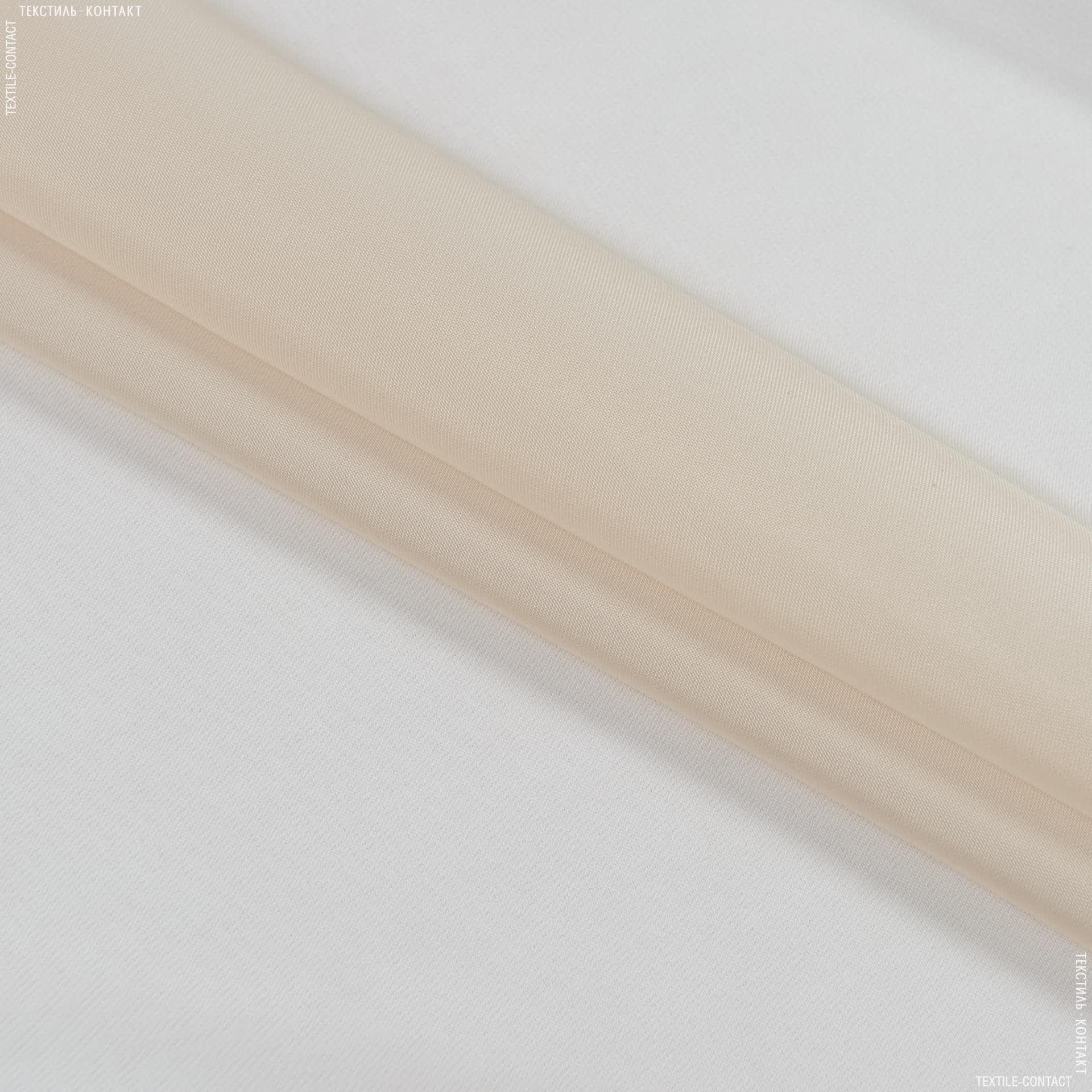 Ткани гардинные ткани - Тюль  вуаль св.беж