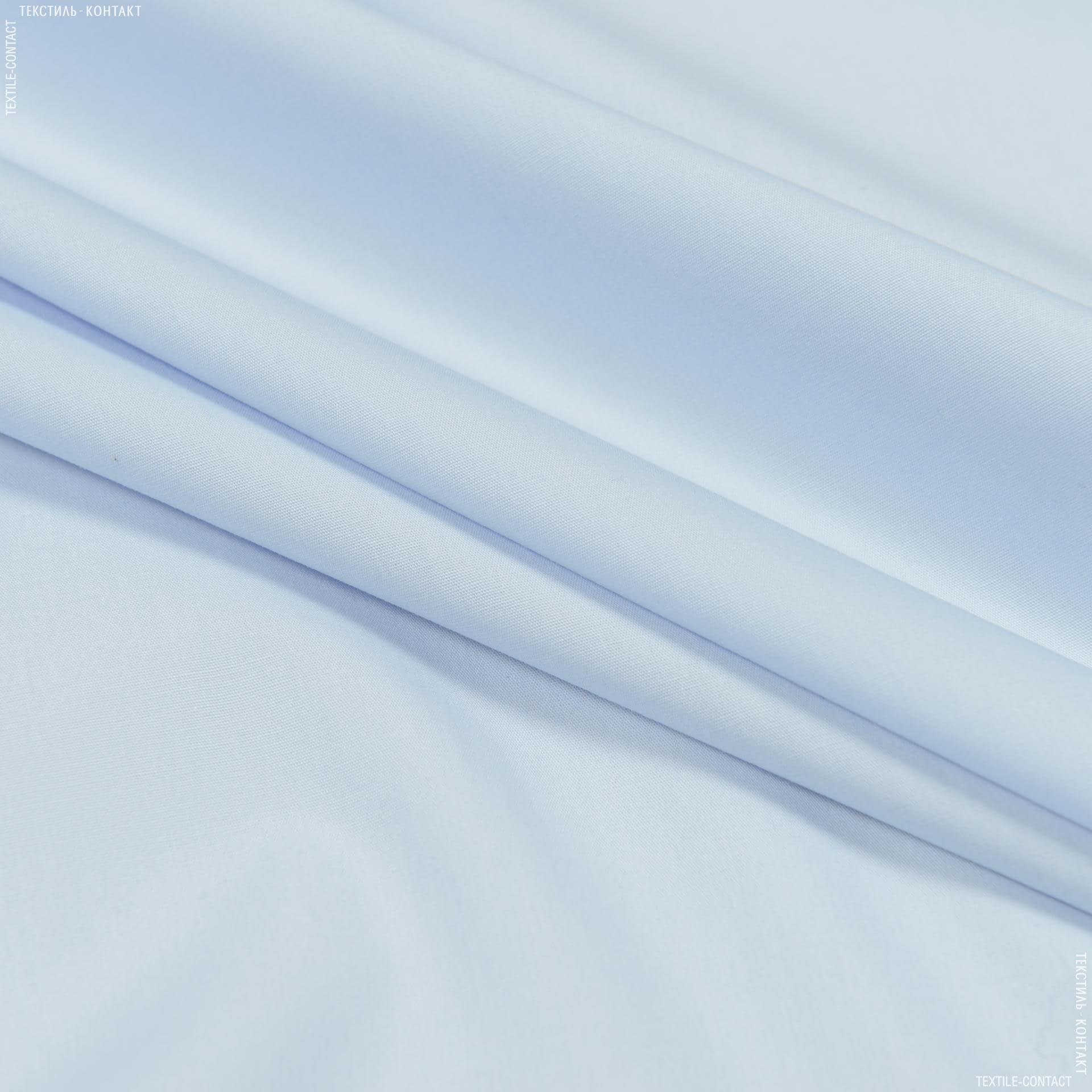 Ткани для платьев - Сорочечная светло-голубой