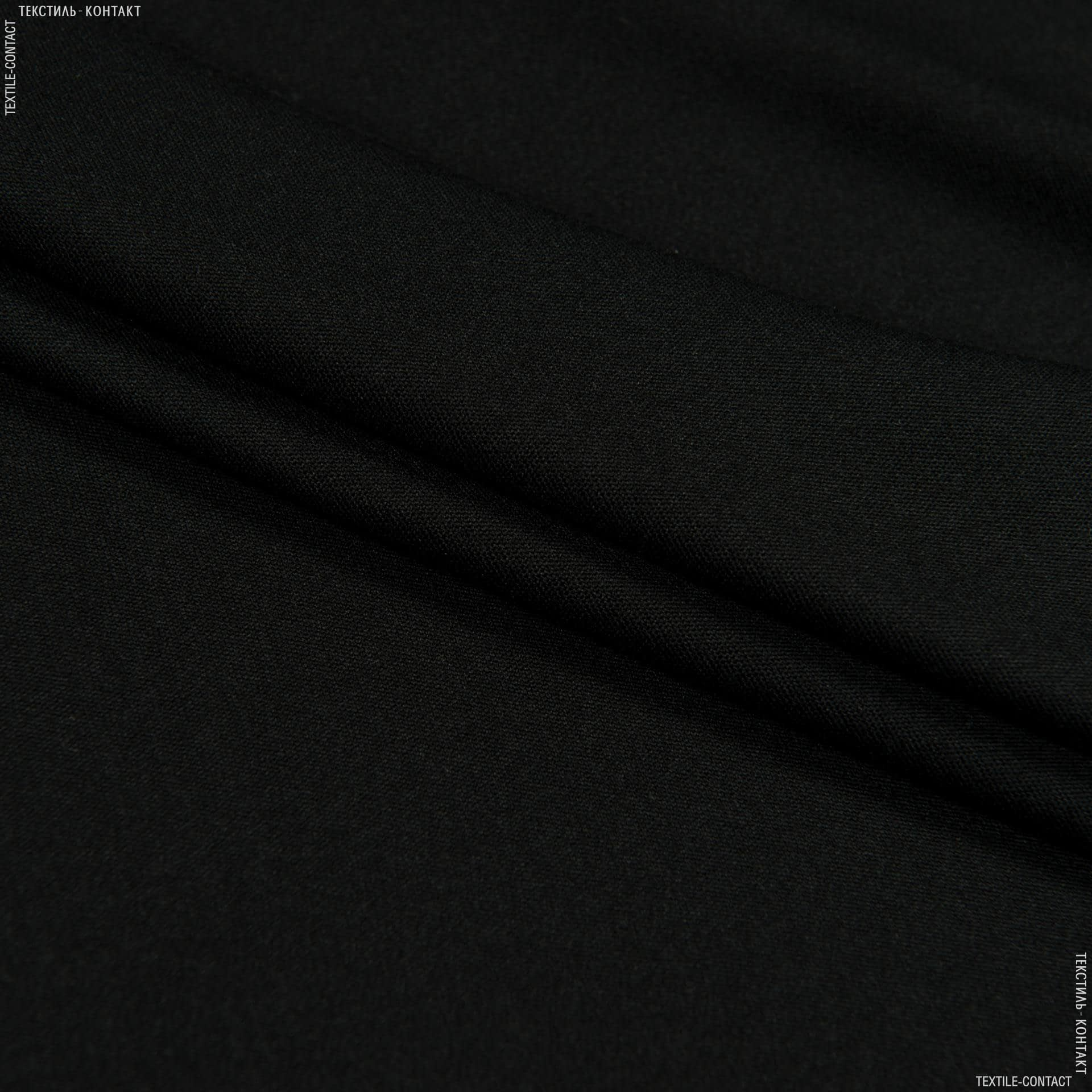 Ткани для спортивной одежды - Микродайвинг черный