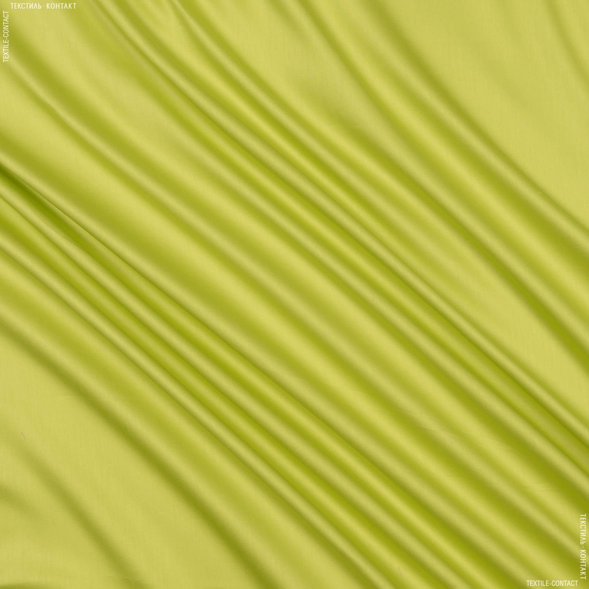 Тканини для постільної білизни - Сатин зелений