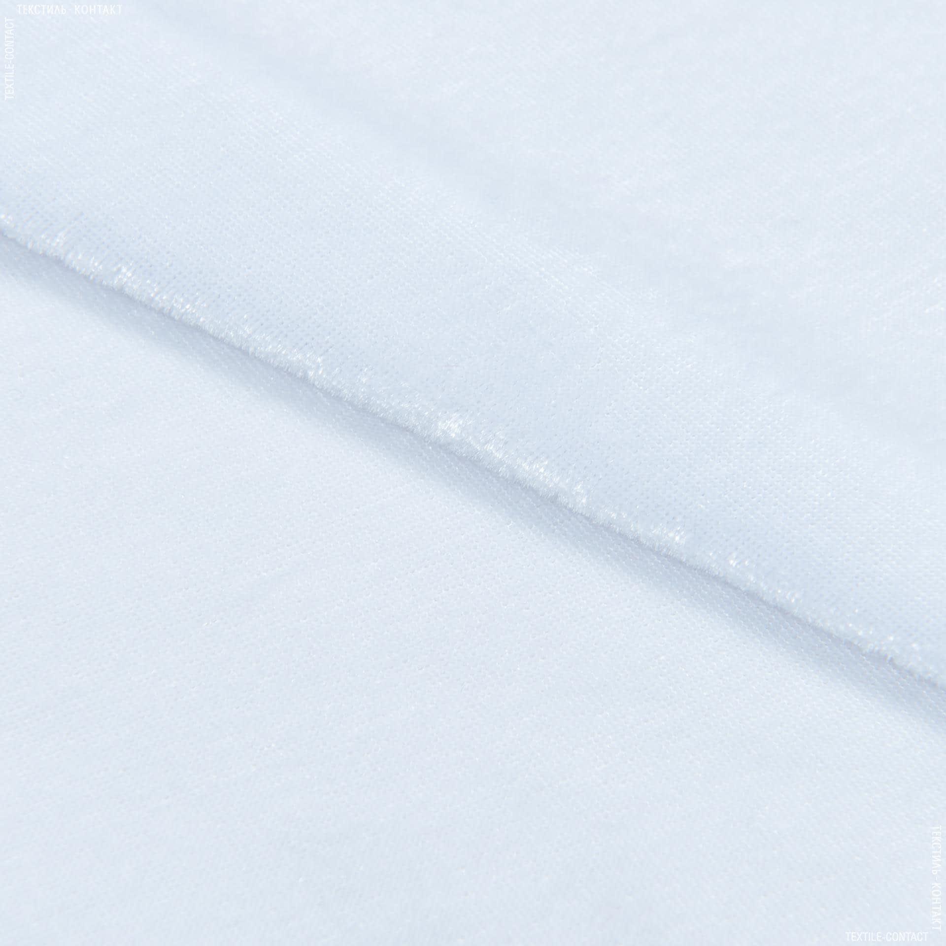 Тканини для суконь - Велюр стрейч білий