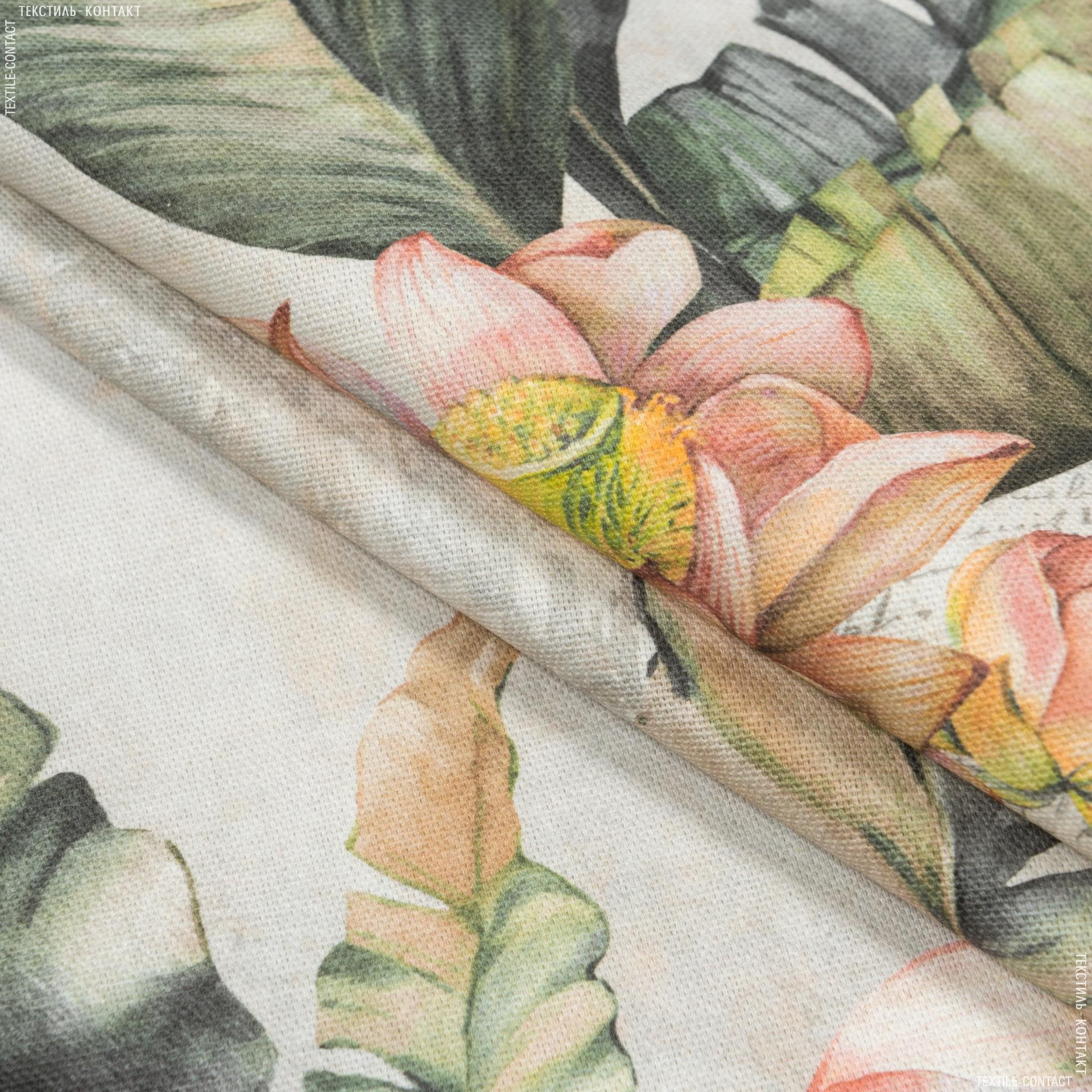 Ткани портьерные ткани - Декоративная ткань  самарканда/samarcanda  водяные лилии