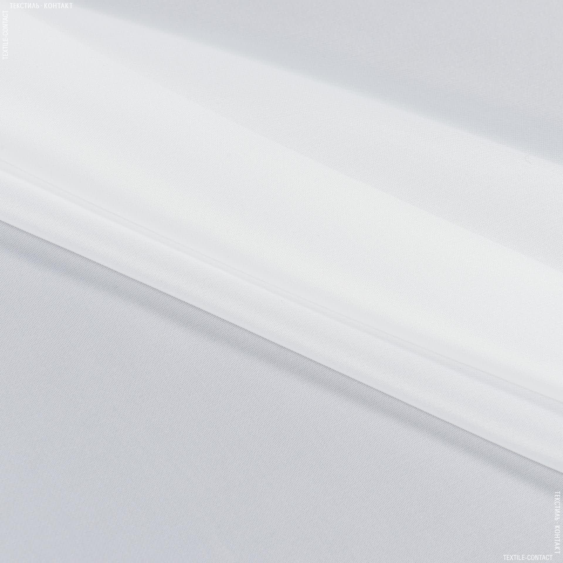 Тканини для драпірування стін і стель - Тюль з обважнювачем вуаль люкс / yari молочно-білий