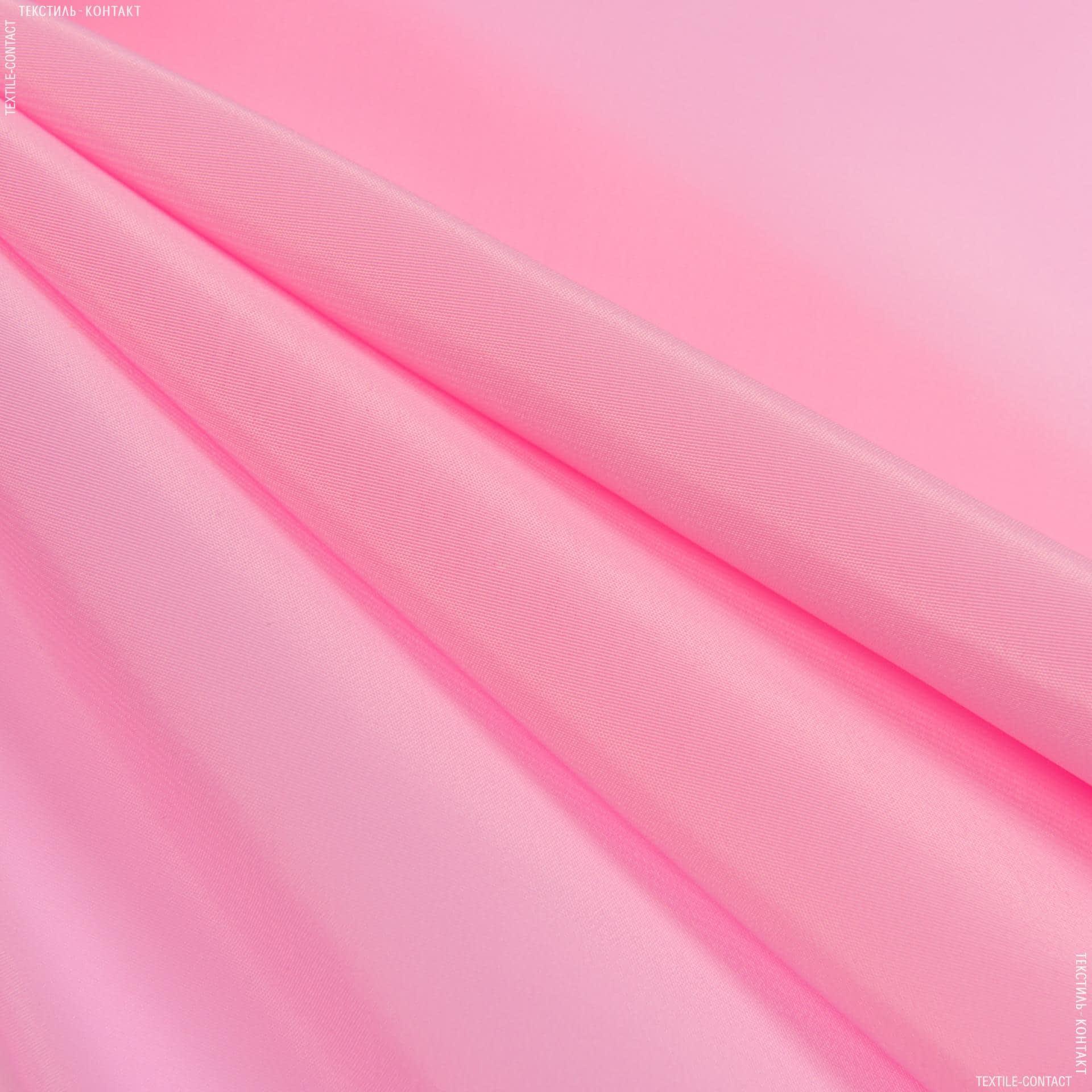Ткани для платков и бандан - Креп кошибо розовый