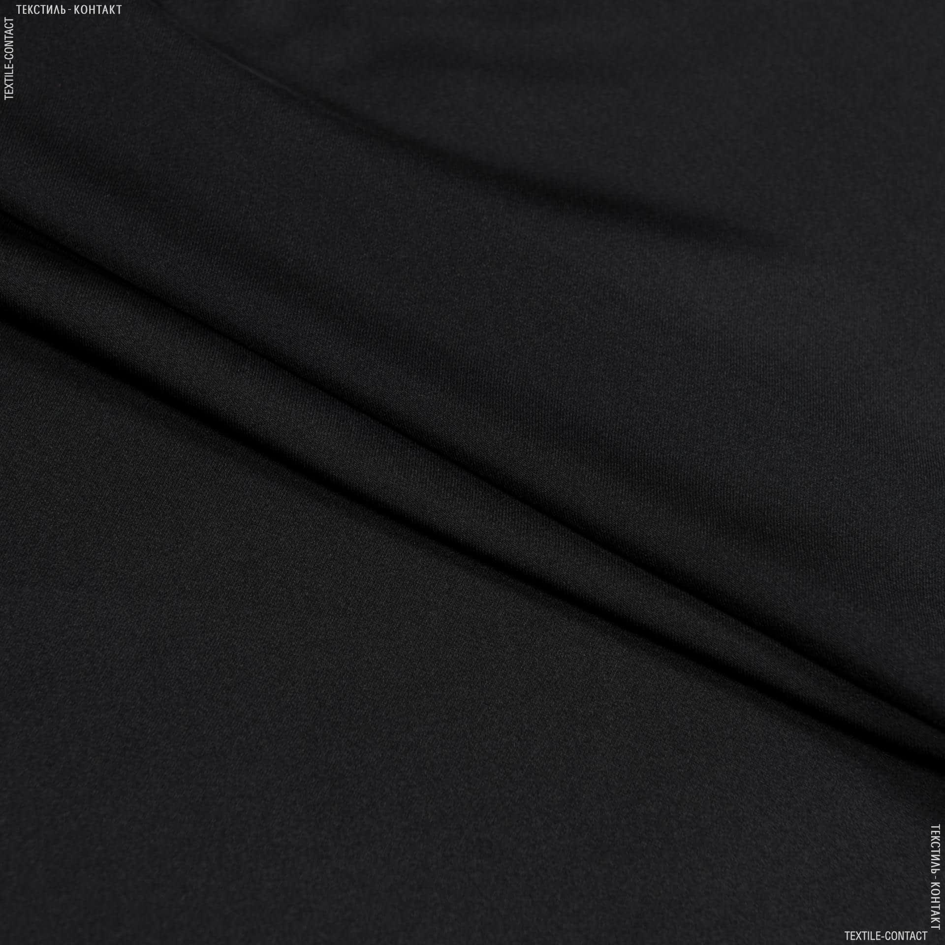 Тканини для хусток та бандан - Шовк штучний чорний