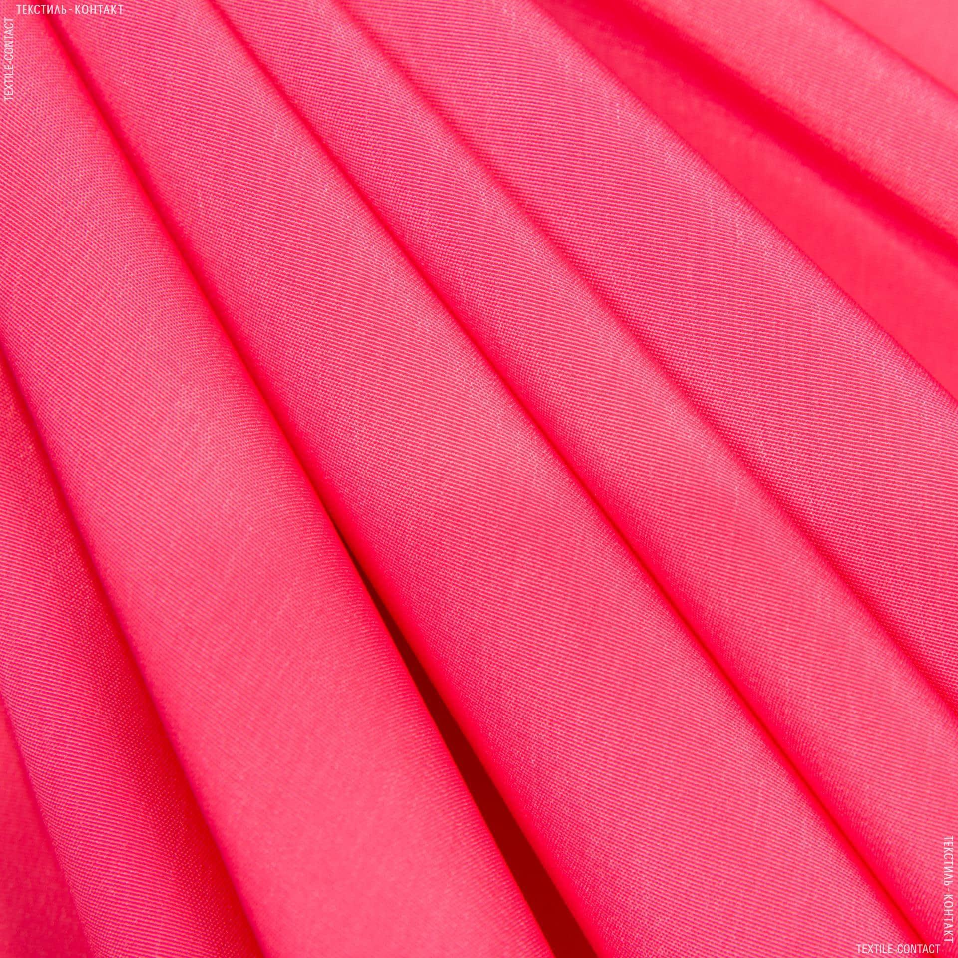Тканини для штанів - Костюмний мокрий шовк яскраво-рожевий