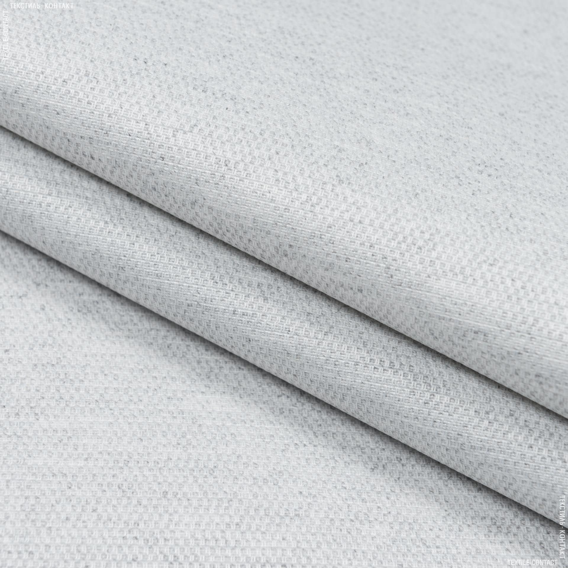 Тканини для штор - Тканина з акриловим просоченням морісот/ morissot рогожка св.сірий