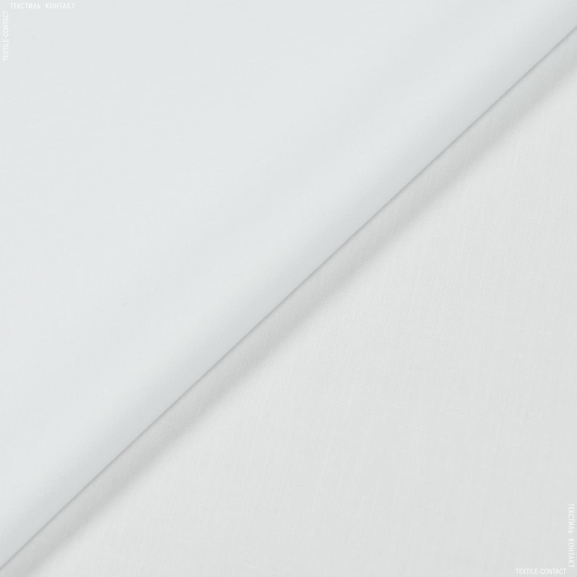 Ткани для мед. одежды - Сорочечная  белый