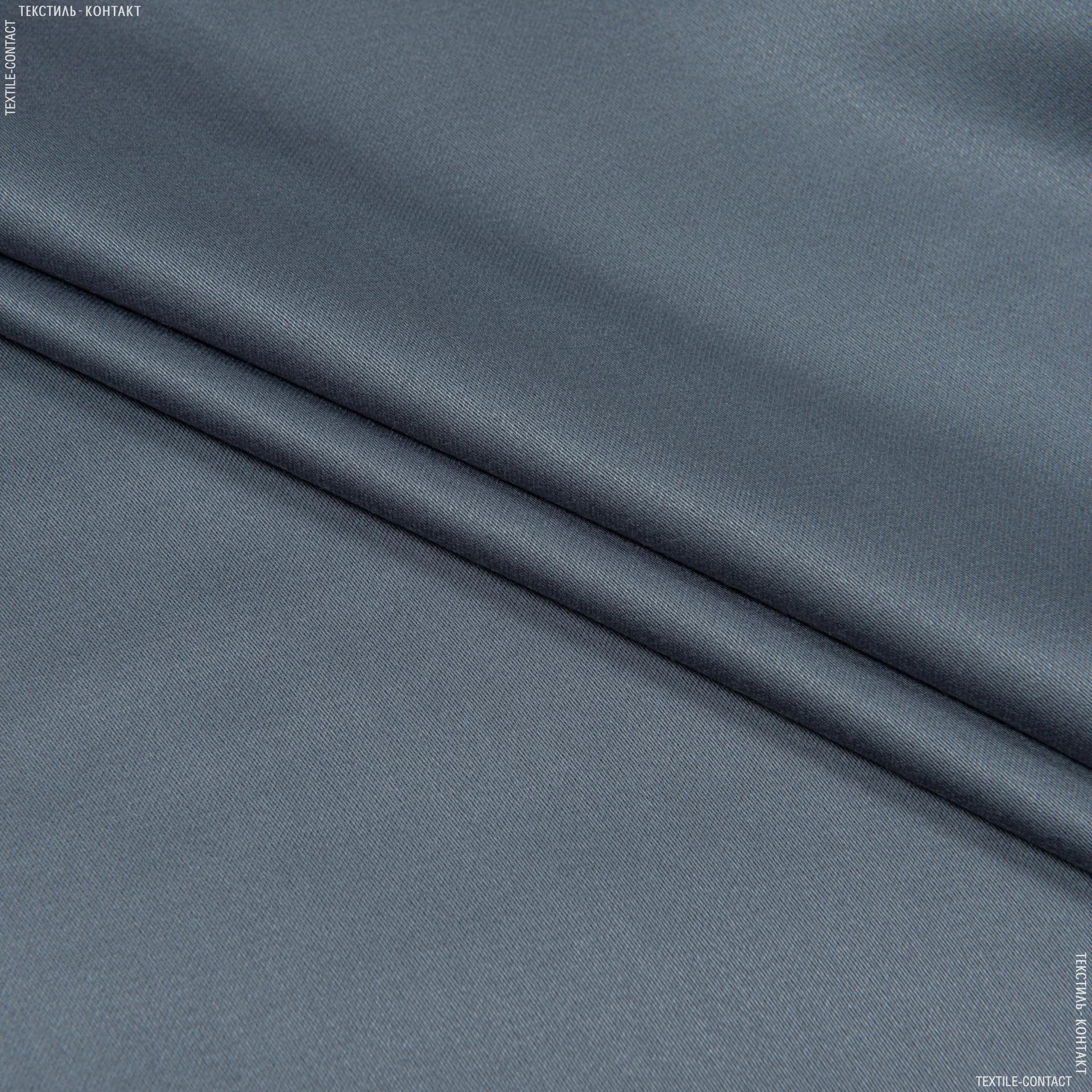 Тканини для штанів - Костюмний сатин сірий