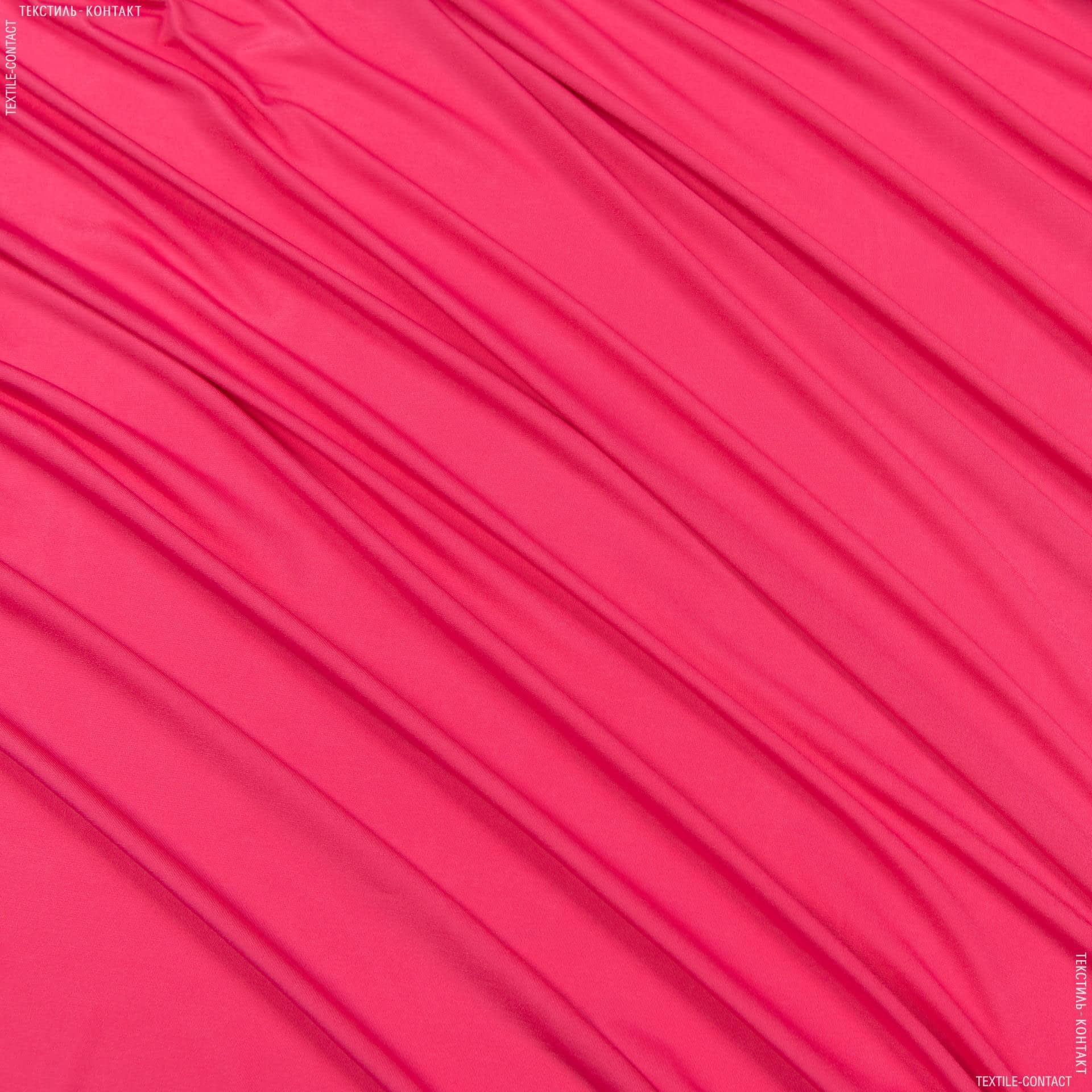 Тканини для суконь - Трикотаж масло світло-малиновий