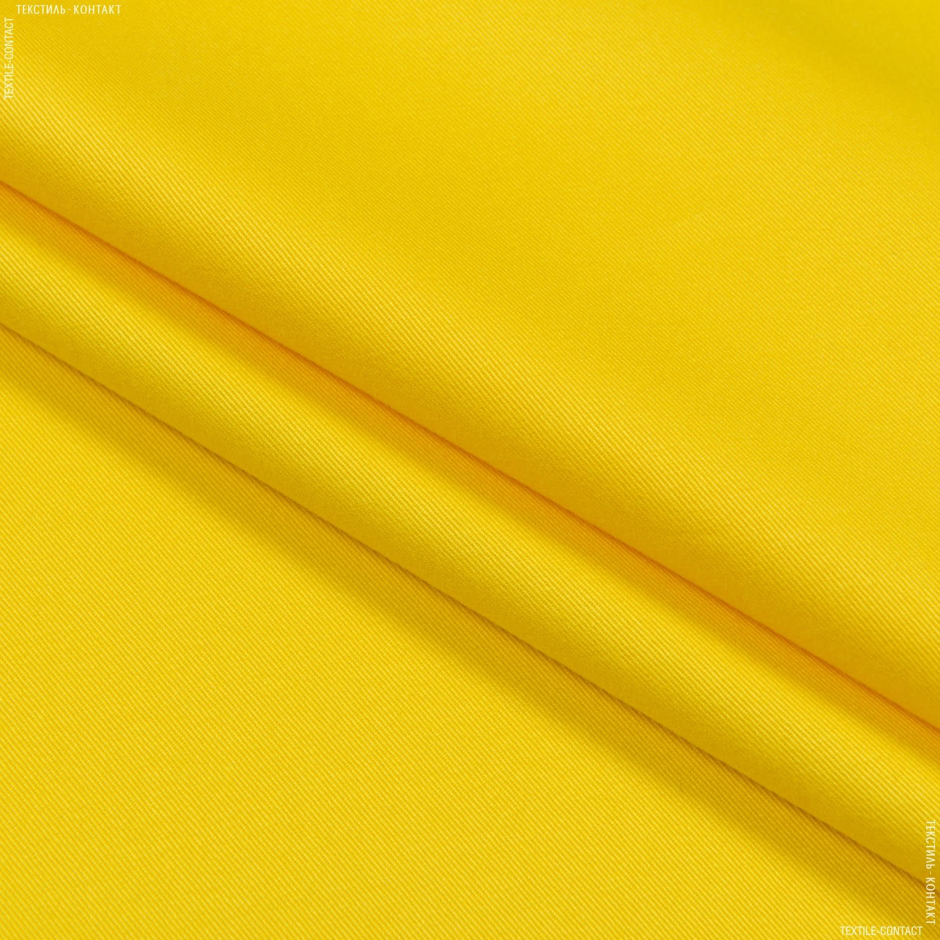 Тканини для банкетних і фуршетніх спідниць - Декоративний сатин гандія/gandia жовтий