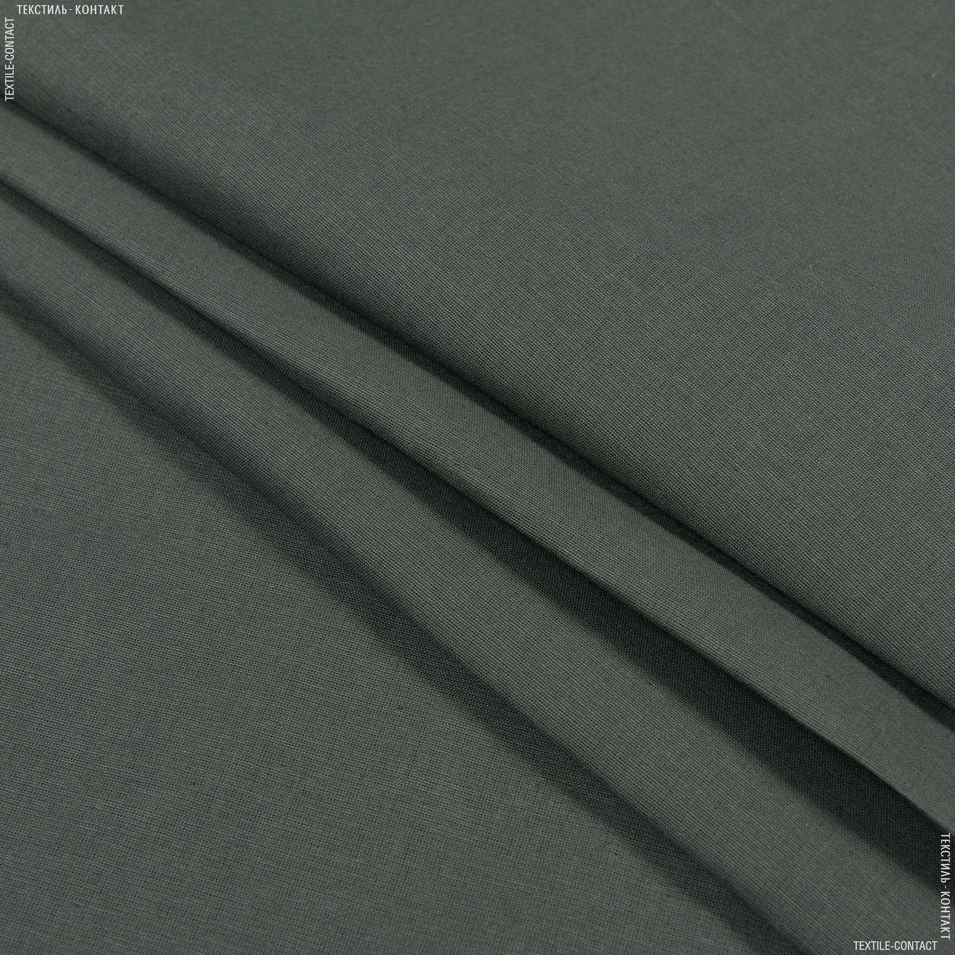 Тканини для постільної білизни - Бязь гладкофарбована олива