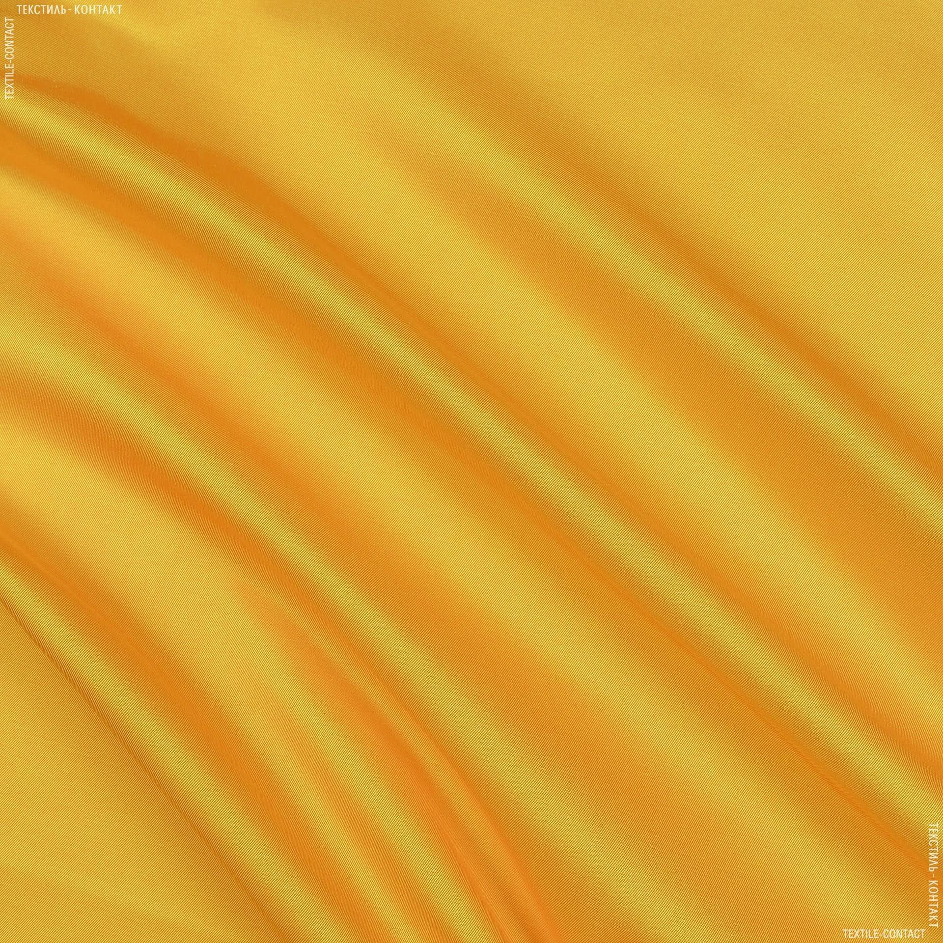 Ткани для спецодежды - Плащева ткань ортон ф желтый во