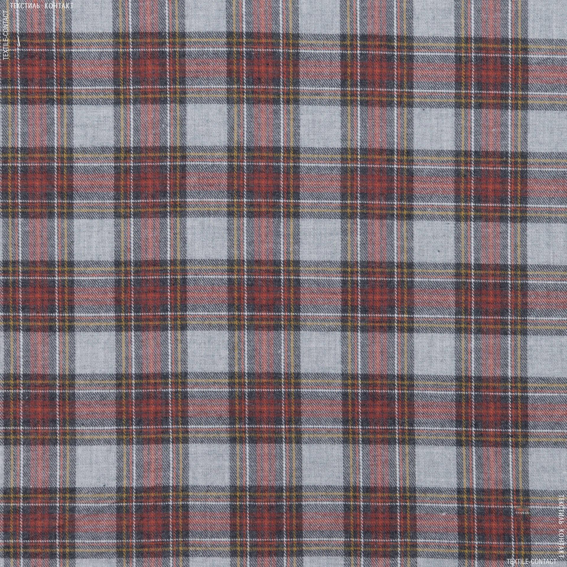 Ткани для платков и бандан - Сорочечная bossa фланель