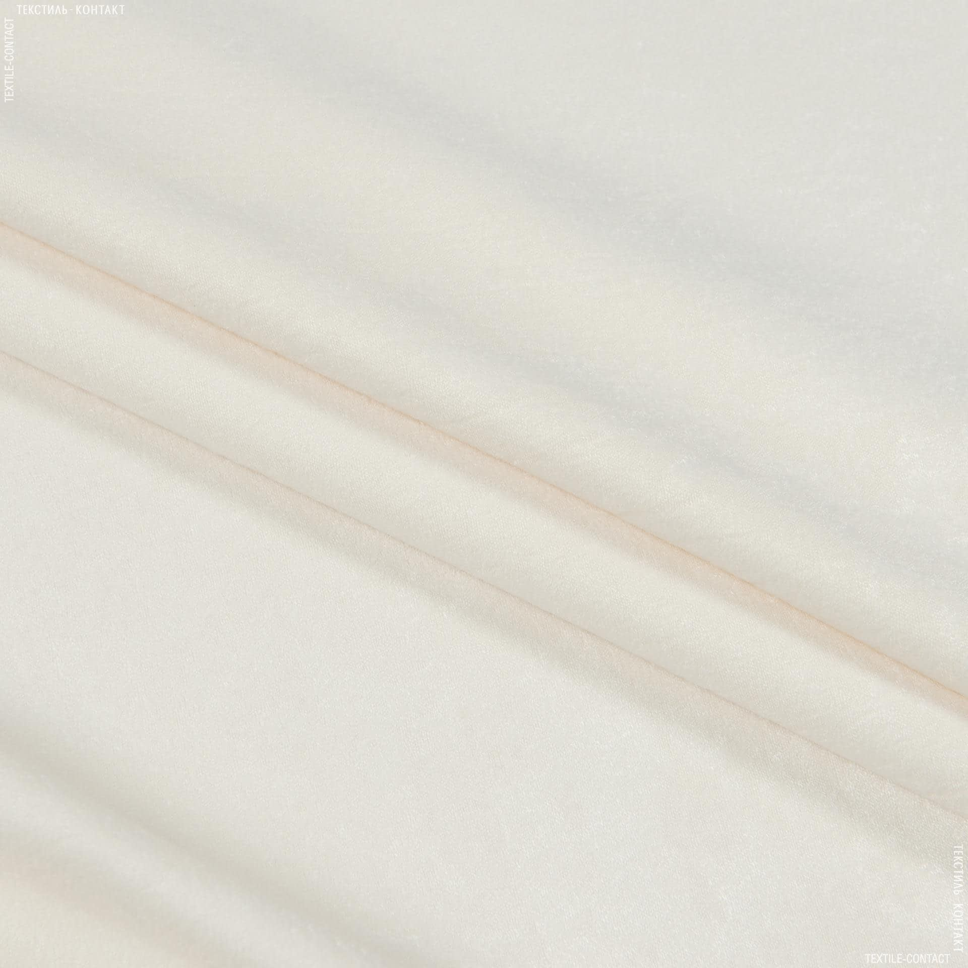 Ткани портьерные ткани - Чин-чила  софт мрамор огнеупорная fr/ крем-брюле