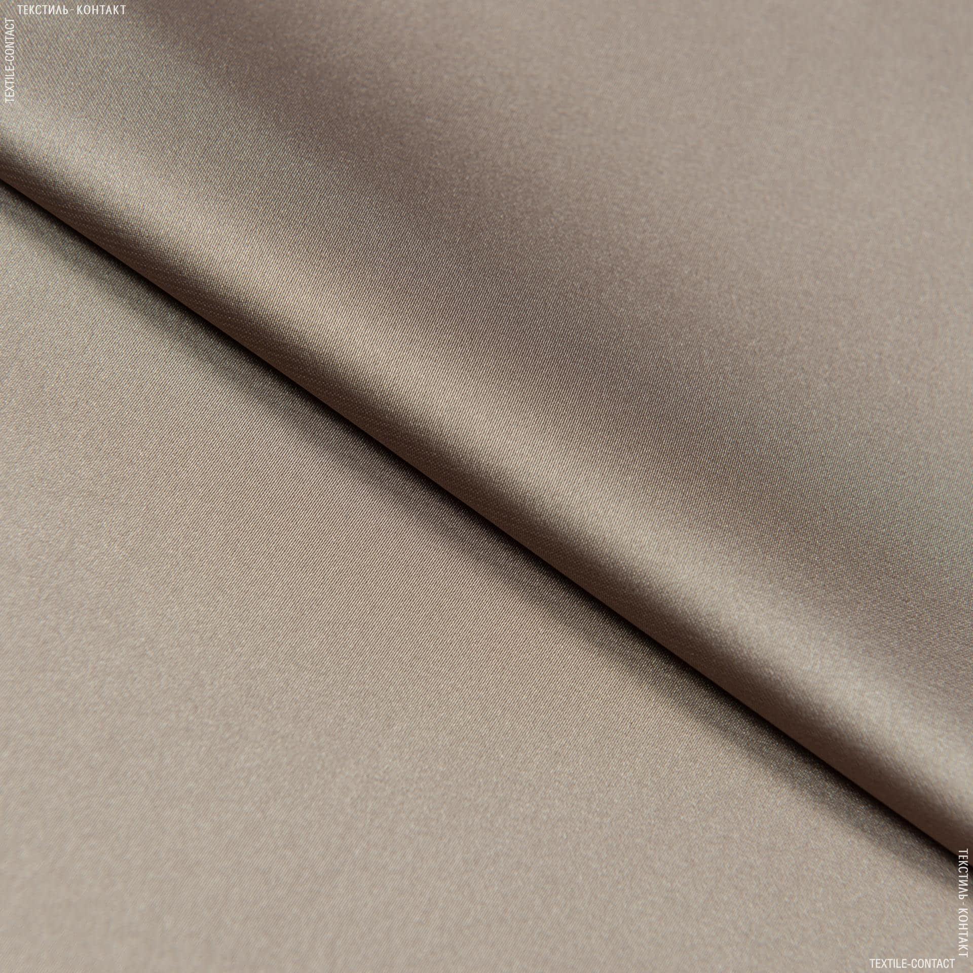 Ткани для платьев - Шелк искусственный стрейч палевый
