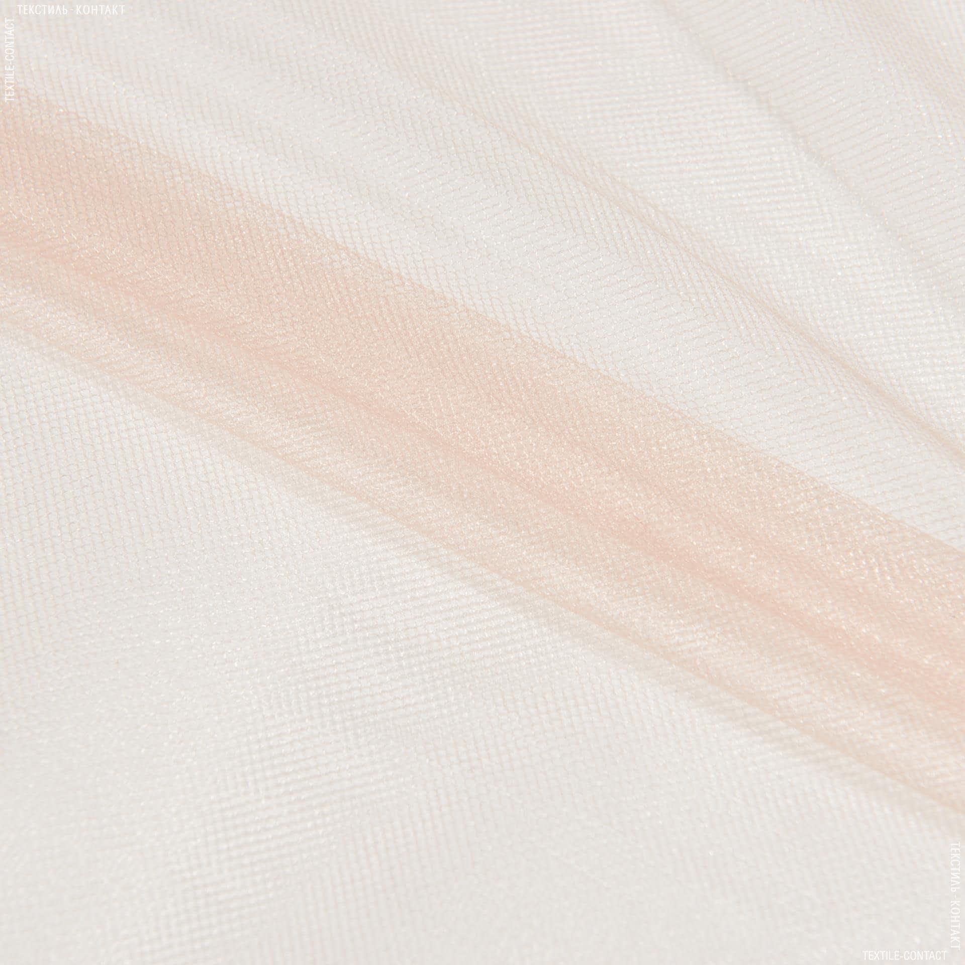 Ткани для блузок - Фатин блестящий кремовый