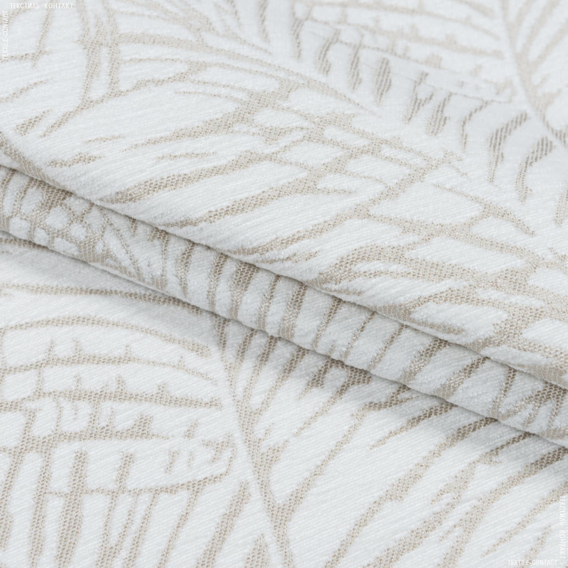 Ткани портьерные ткани - Декоративная ткань ватсон листья/watson фон св.беж