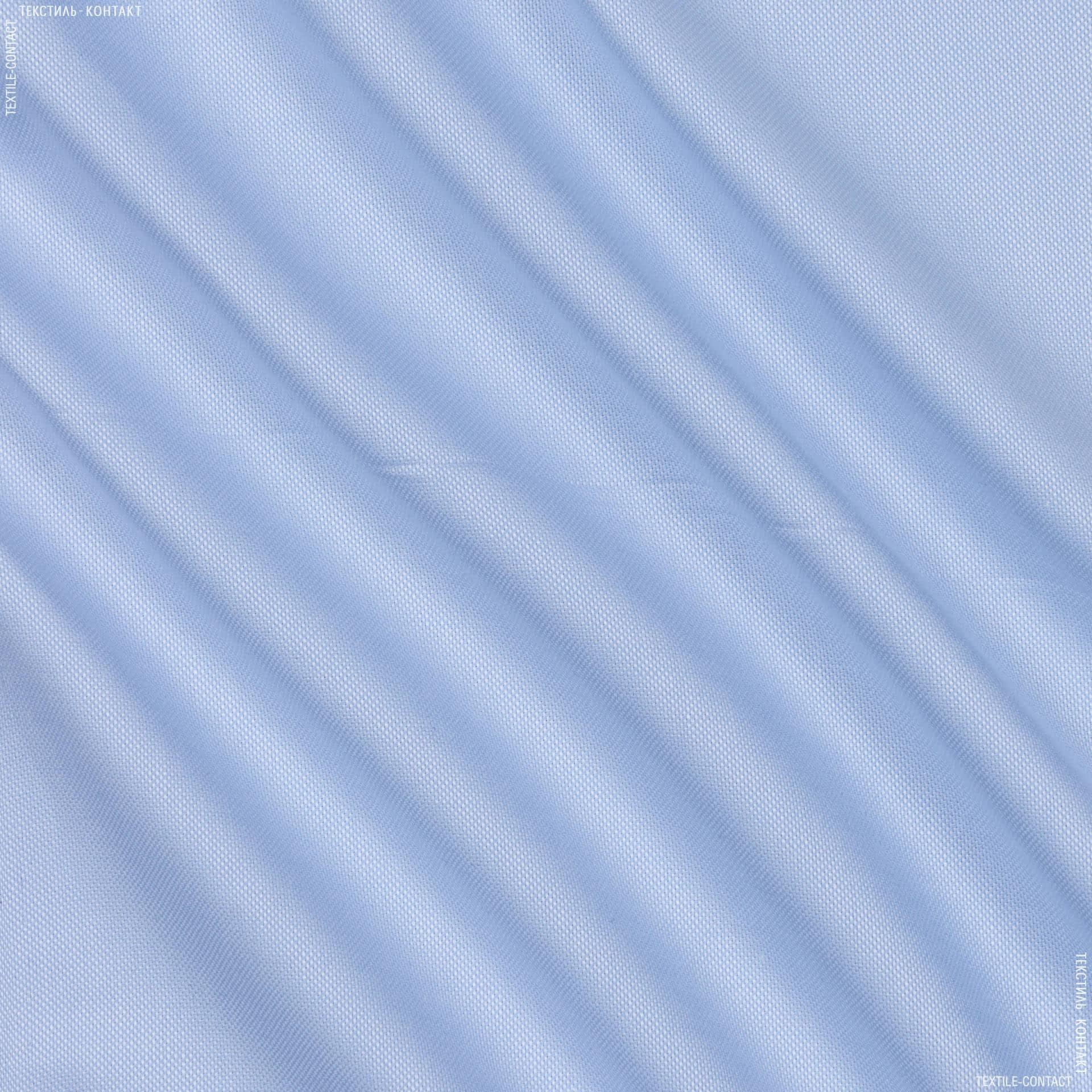 Ткани для платков и бандан - Сорочечная monti рогожка светло-голубой