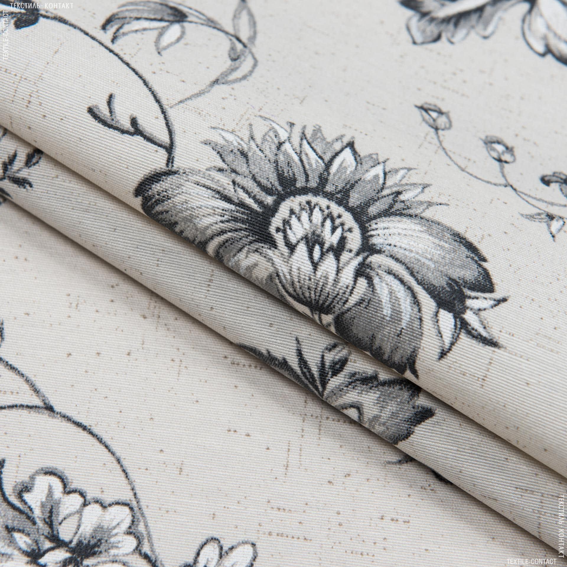 Ткани для скатертей - Ткань с акриловой пропиткой фрида цветы