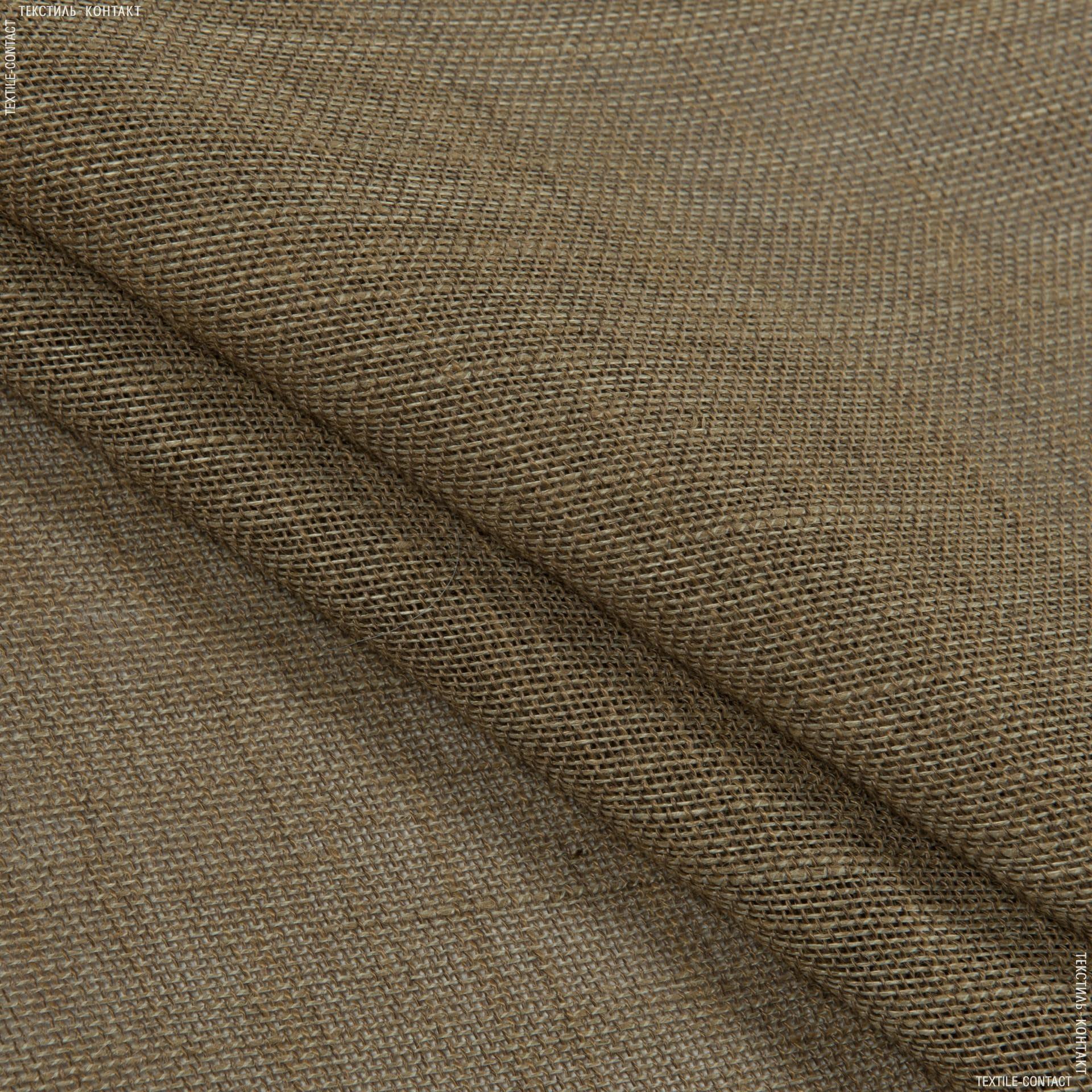 Ткани для сумок - Декоративная мешковина беж