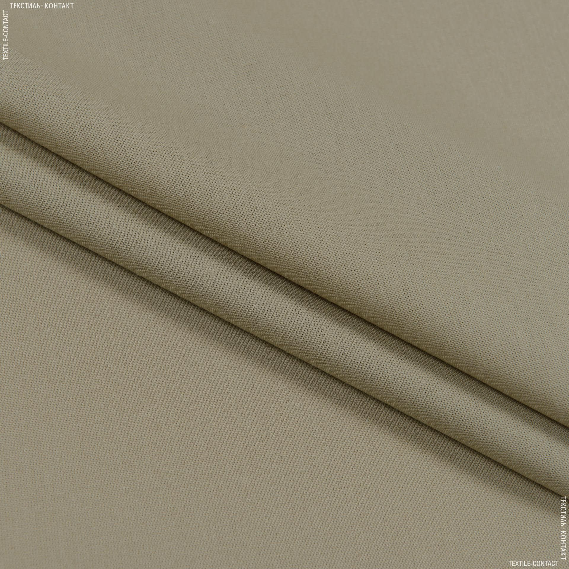 Ткани подкладочная ткань - Бязь гладкокрашеная бежевый