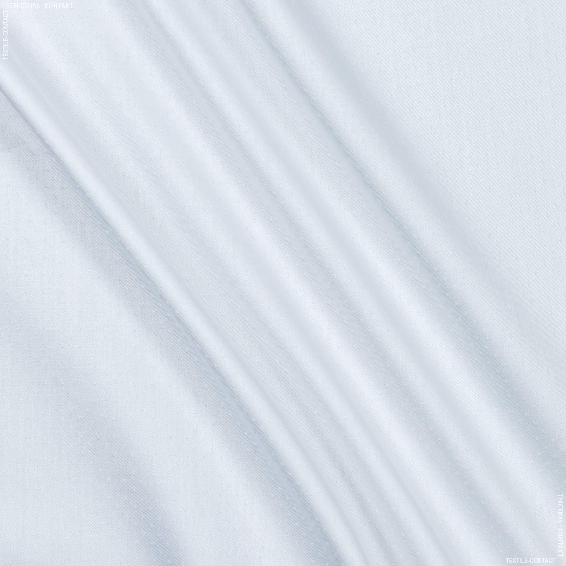 Ткани для платков и бандан - Сорочечная monti точка белый