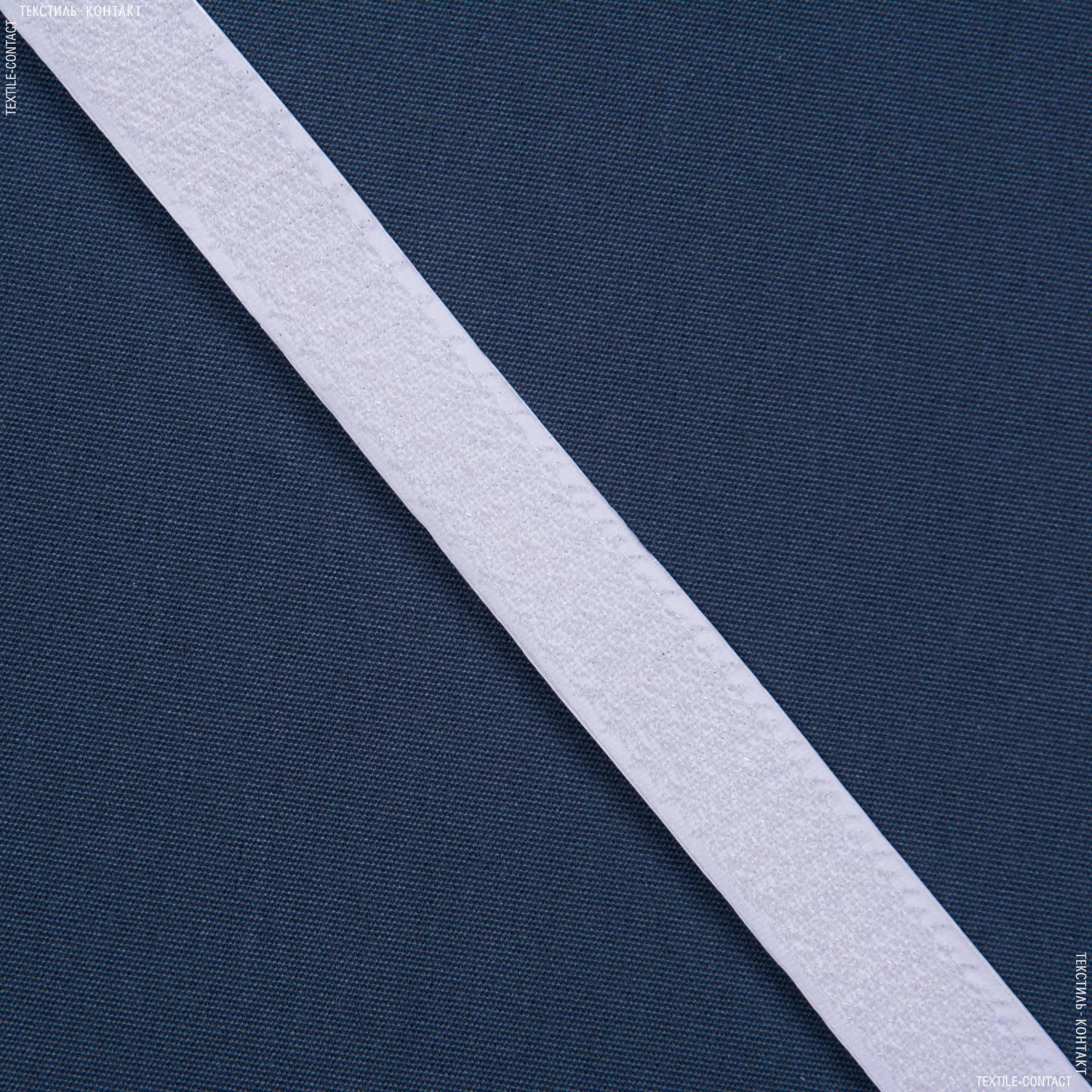 Ткани фурнитура для декора - ЛИПУЧКА  Велкро КЛЕЕВАЯ ЖЕСТКАЯ БЕЛАЯ 20мм/25М