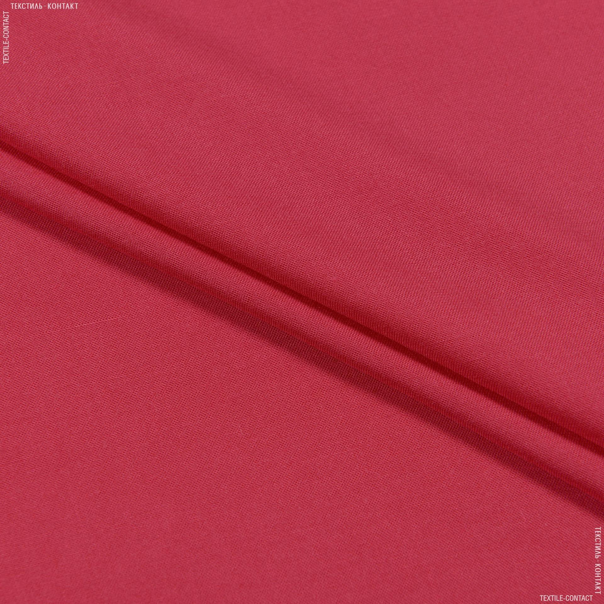Тканини для дитячого одягу - Штапель фалма світло-вишневий