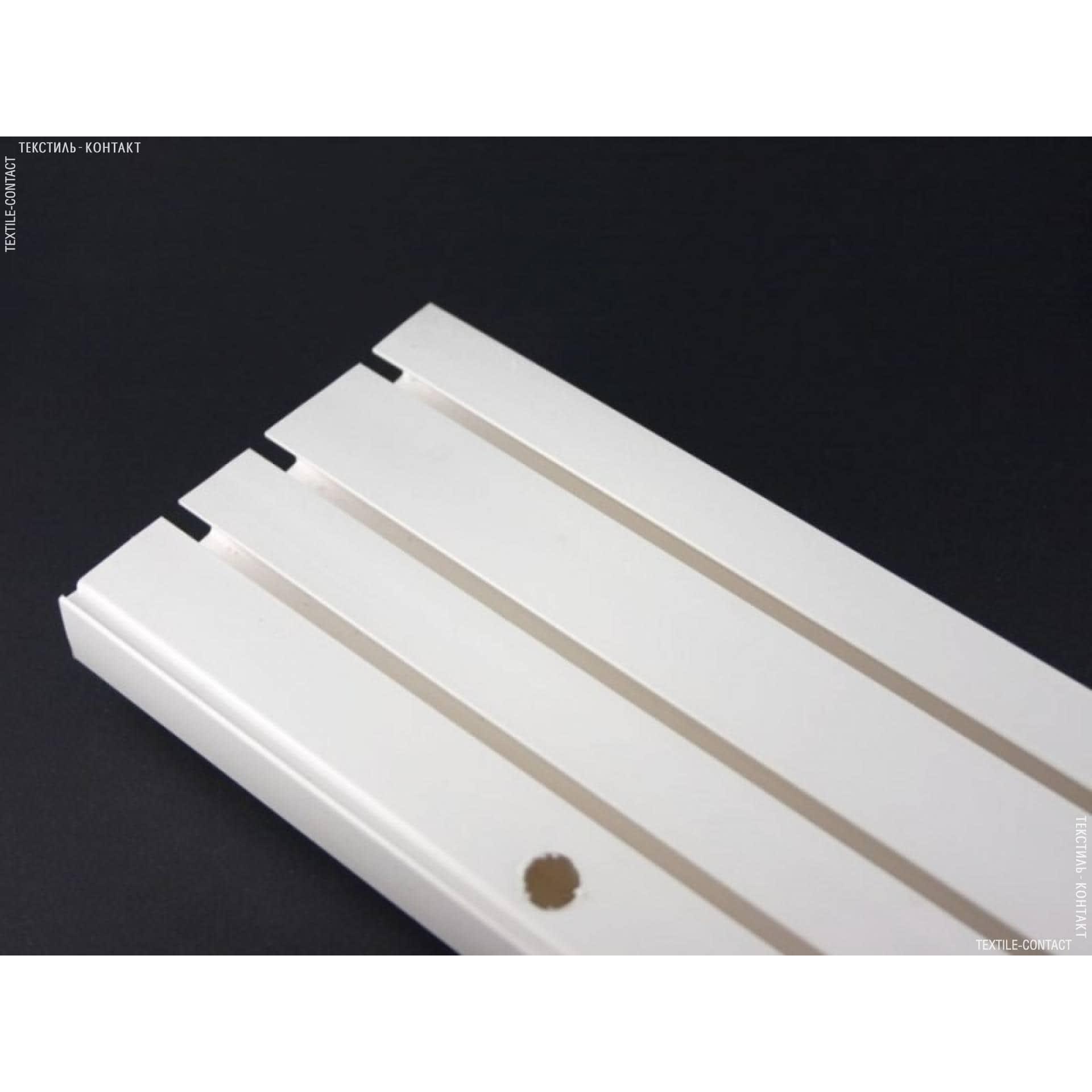 Тканини карнизи - Шина пластикова 3-смугова 210см
